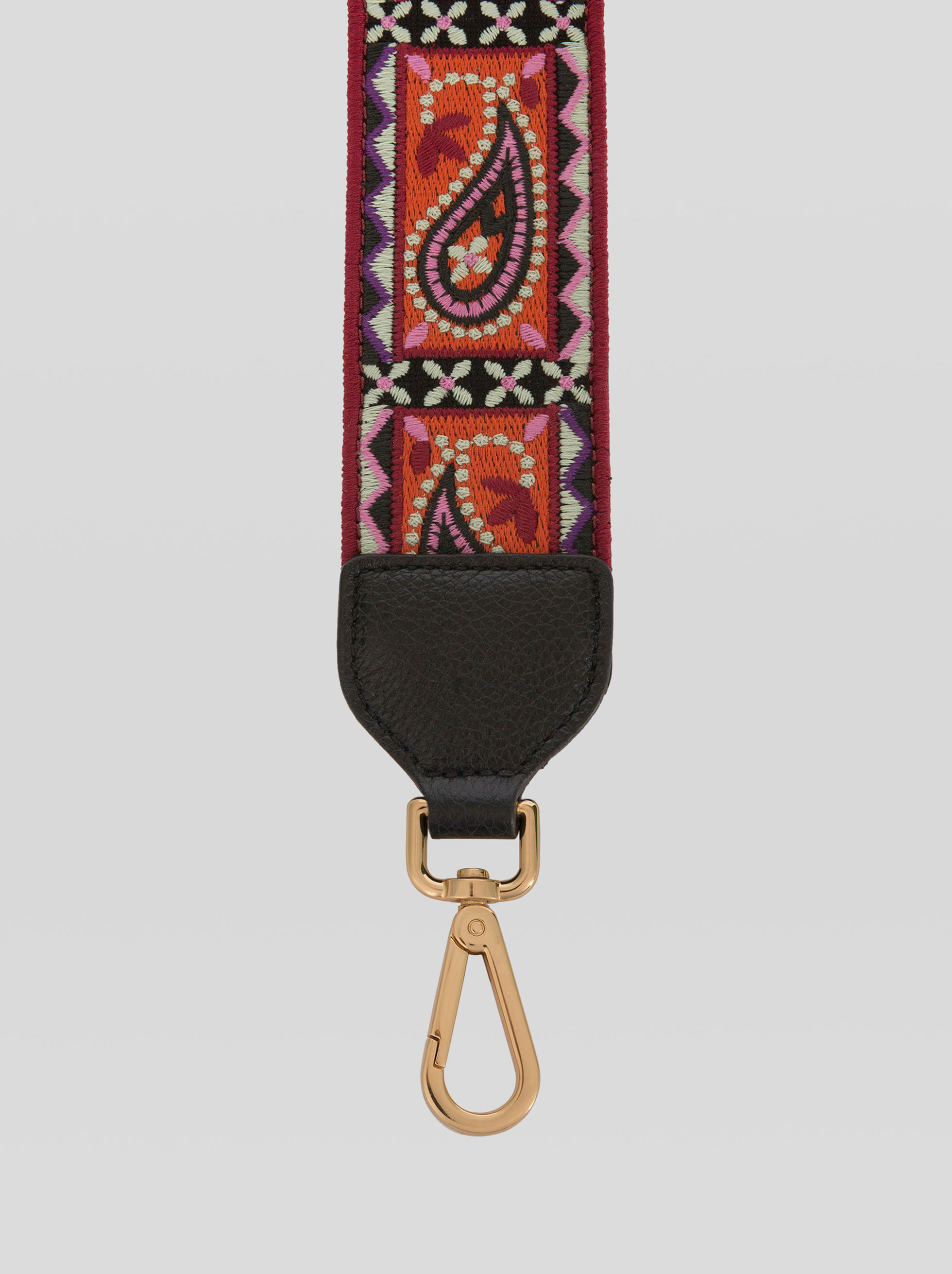 EMBROIDERED RAINBOW SHOULDER STRAP