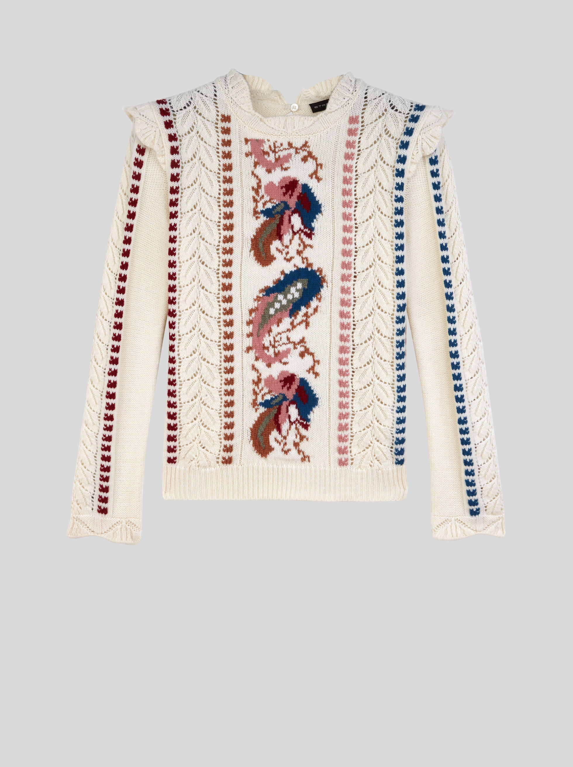 JUMPER WITH EMBROIDERY