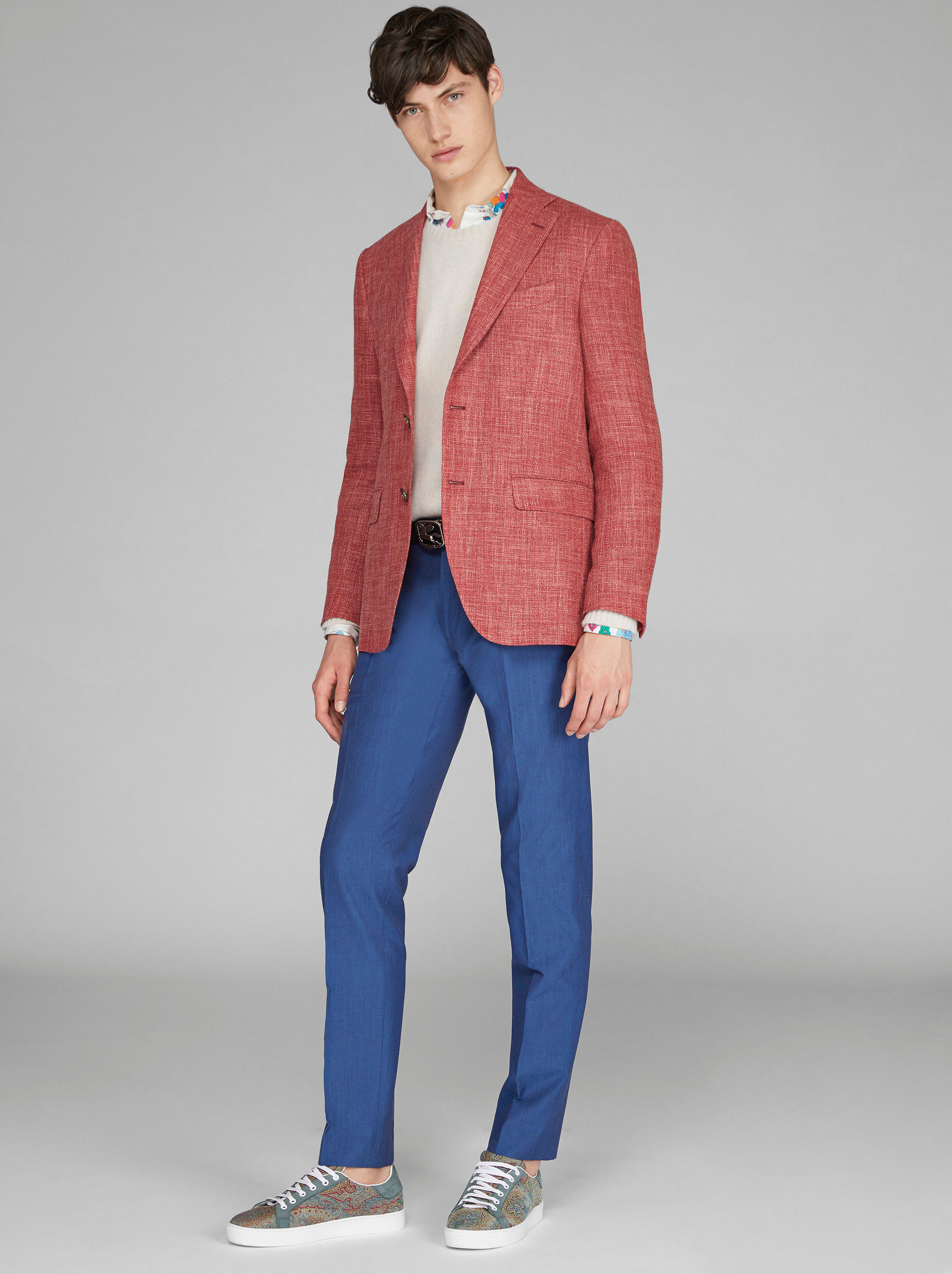 WOOL BLEND TAILORED JACKET
