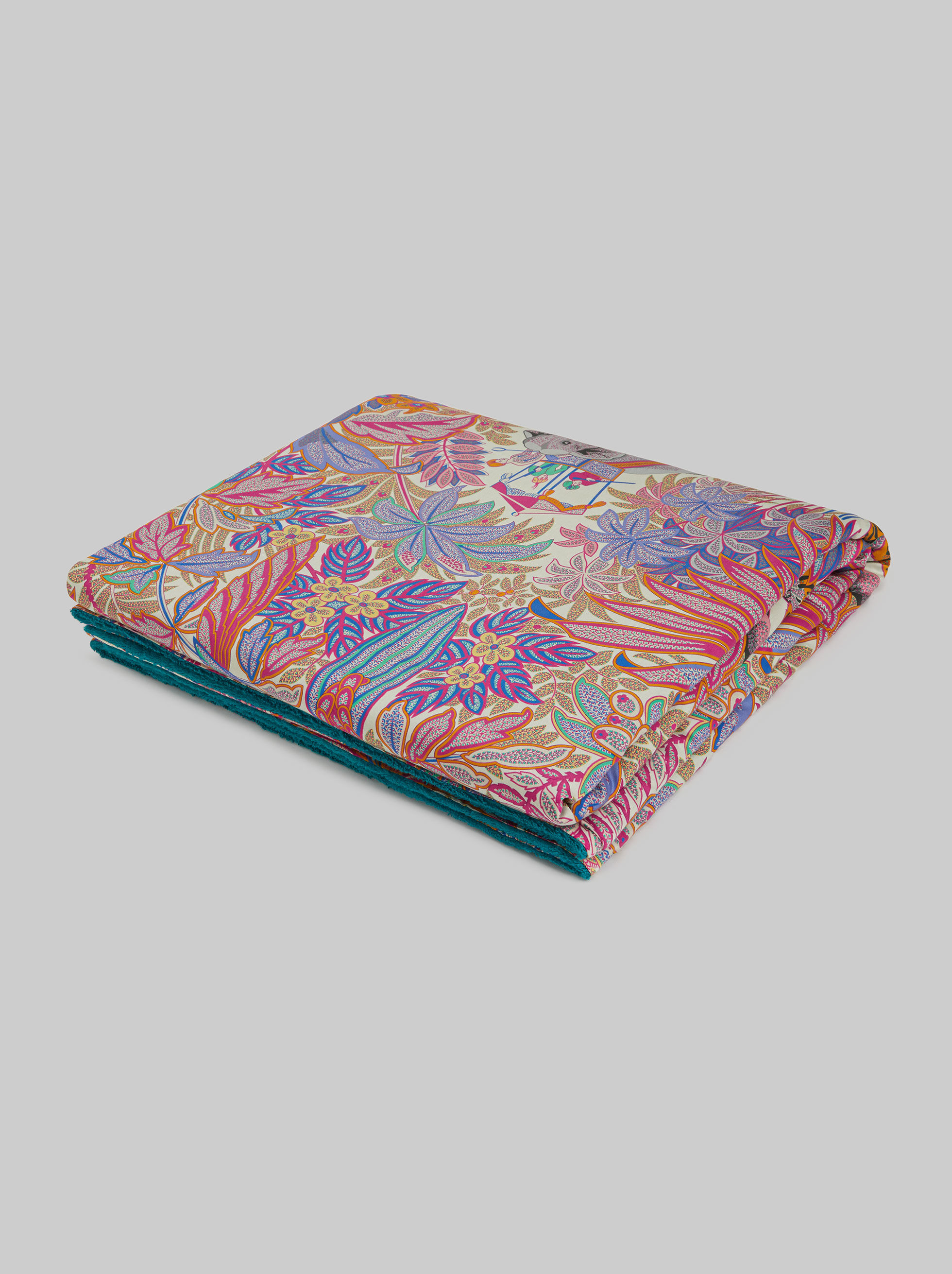 ORIENTAL PATTERN COTTON BEACH TOWEL