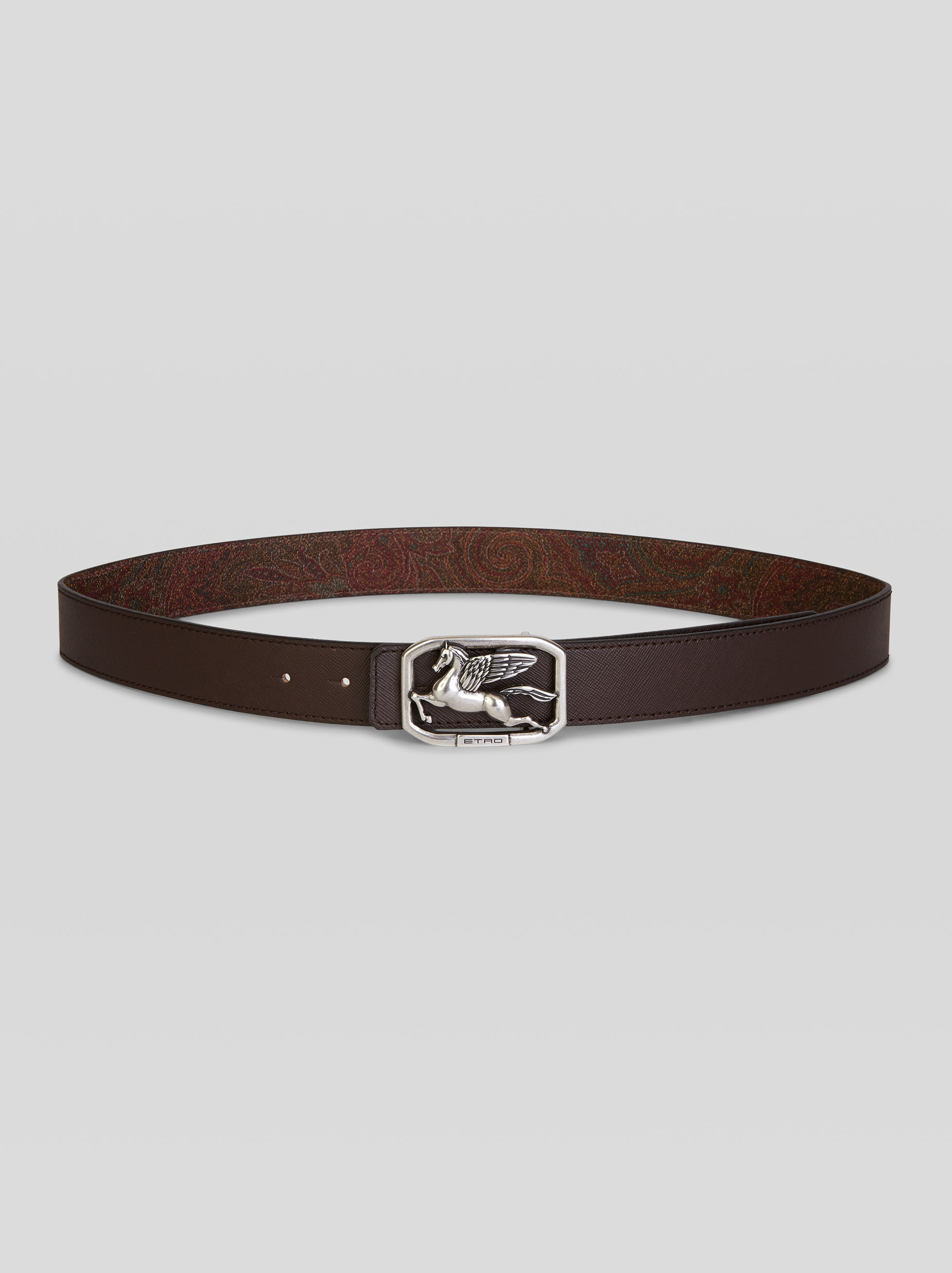 REVERSIBLE BELT WITH PEGASO