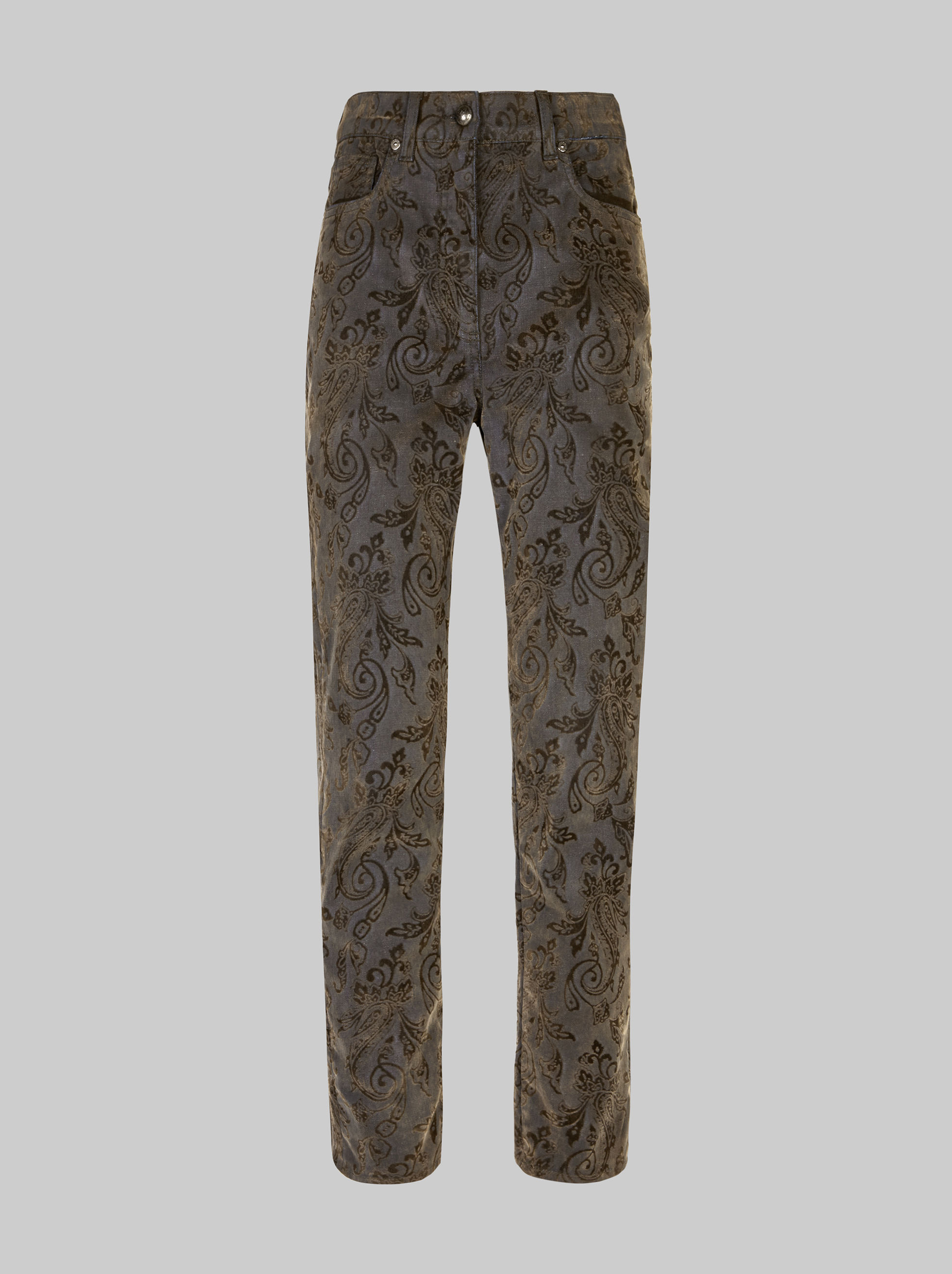 PAISLEY SKINNY JEANS