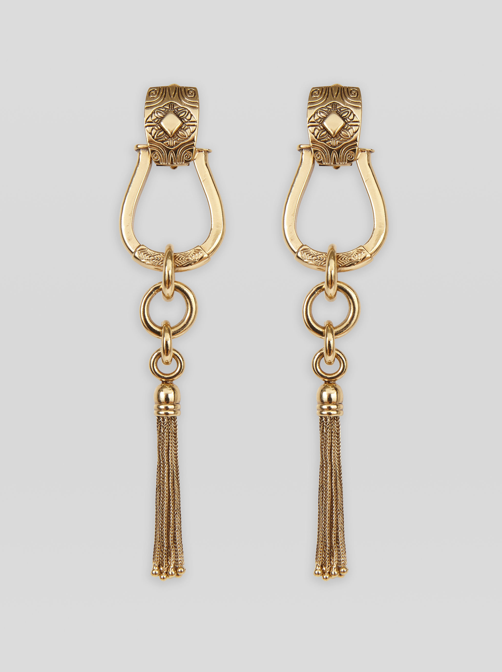 EARRINGS WITH FRINGE