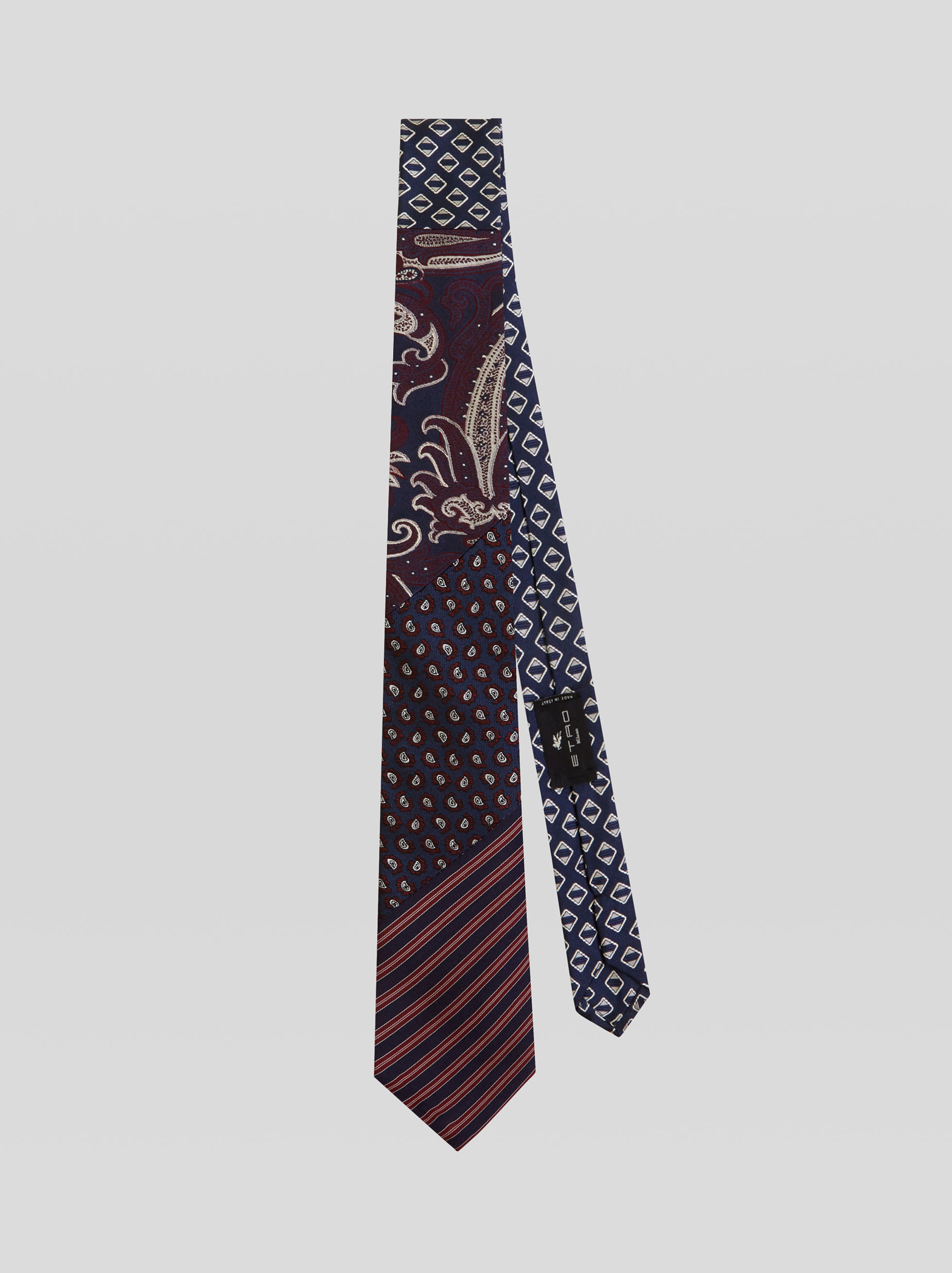 FOUR FABRIC TIE