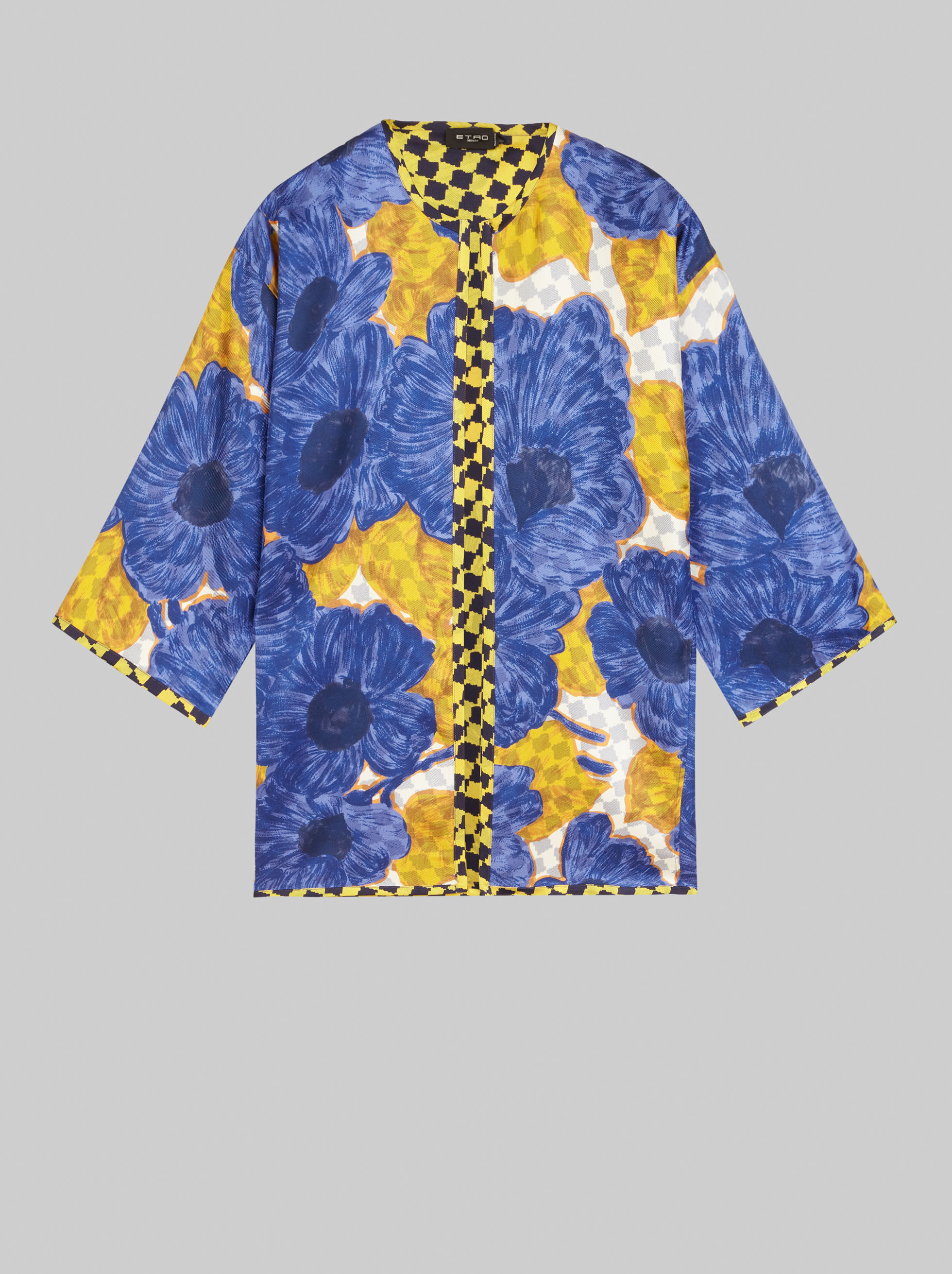PRINTED DOUBLE-SIDED PONCHO