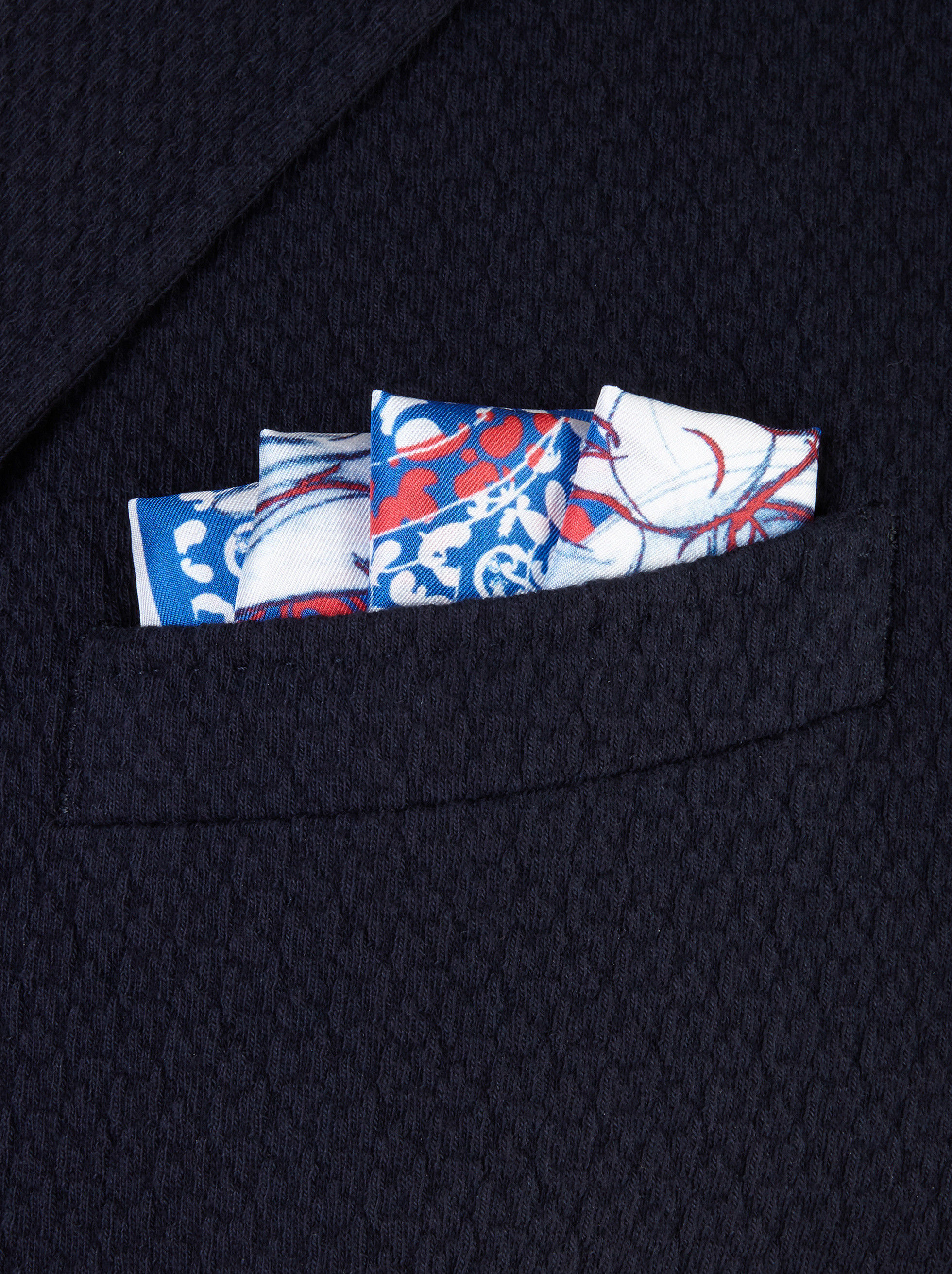 JERRY PRINT POCKET SQUARE