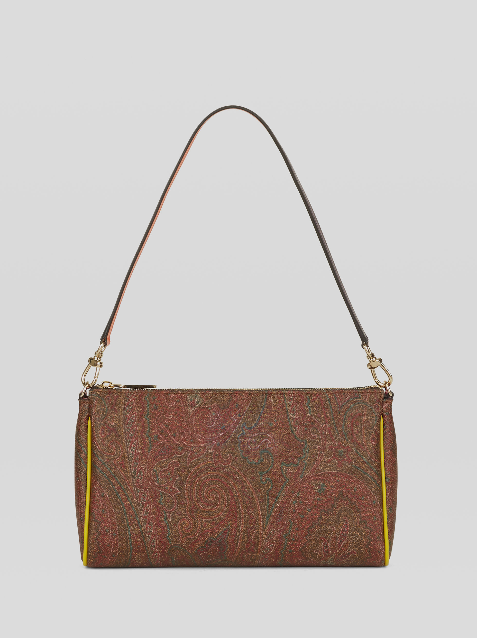 PAISLEY MINI BAG WITH MULTICOLORED INSERTS