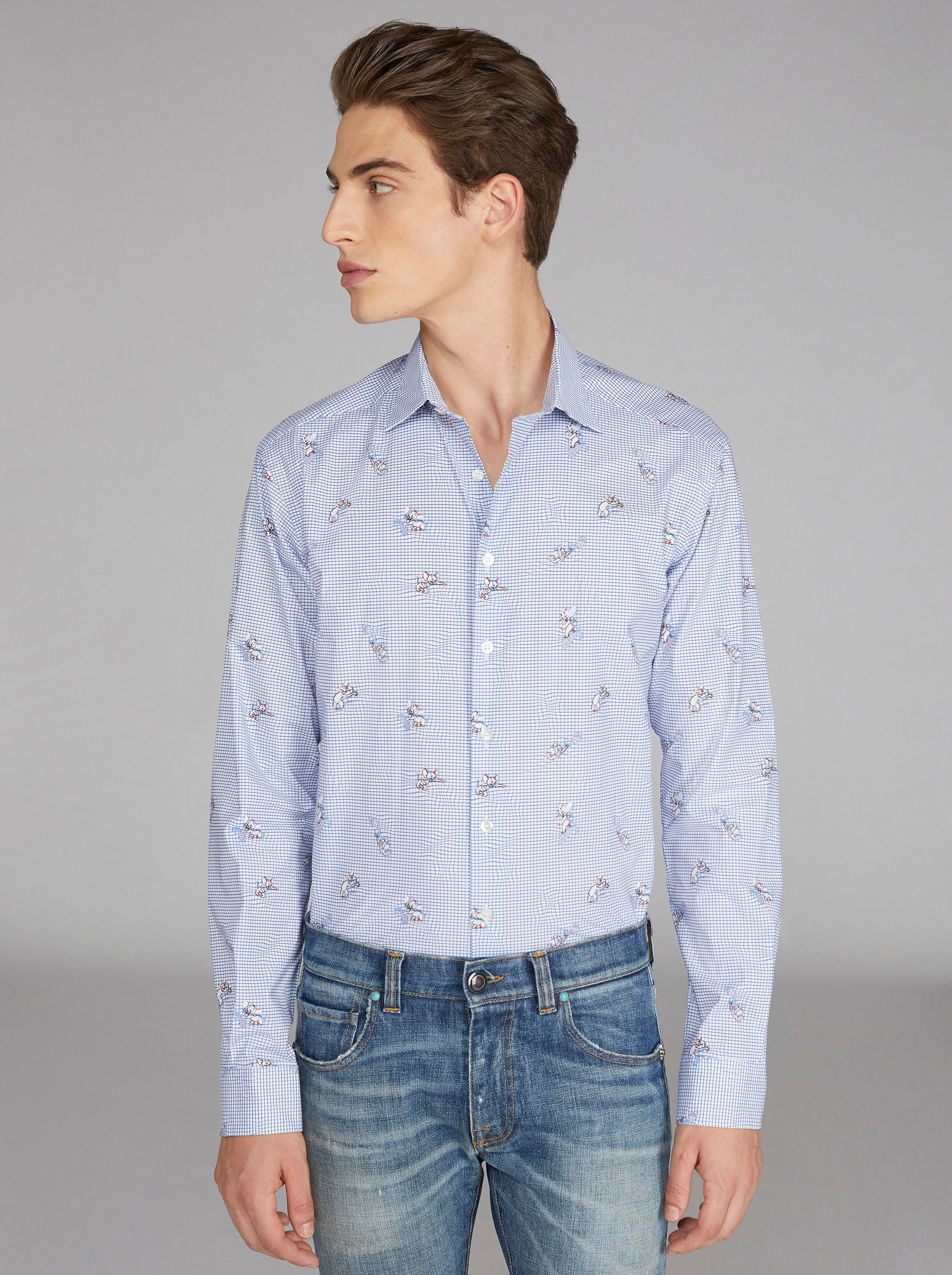 JERRY CHECK SHIRT