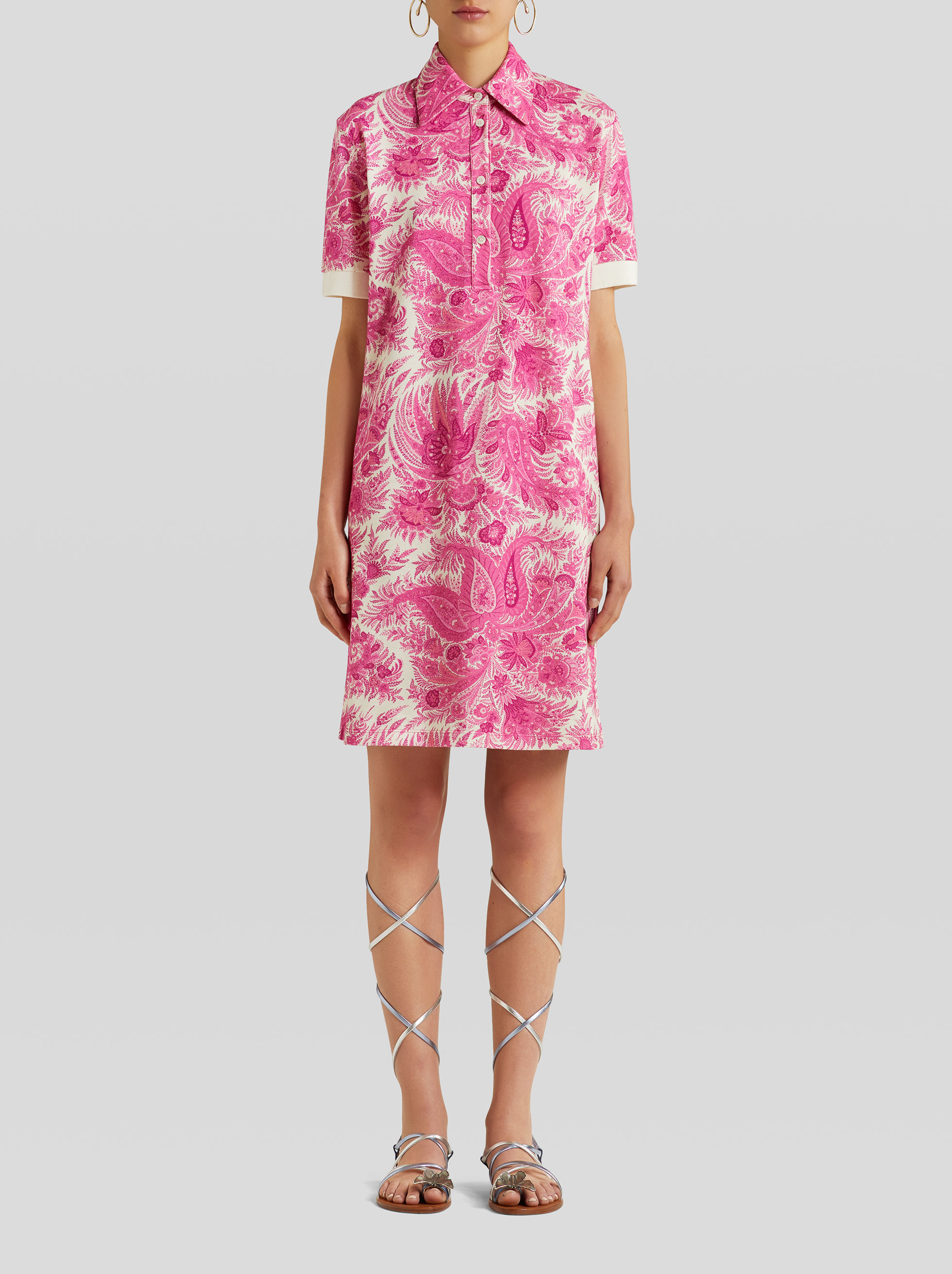 ABITO IN JERSEY STAMPA PAISLEY