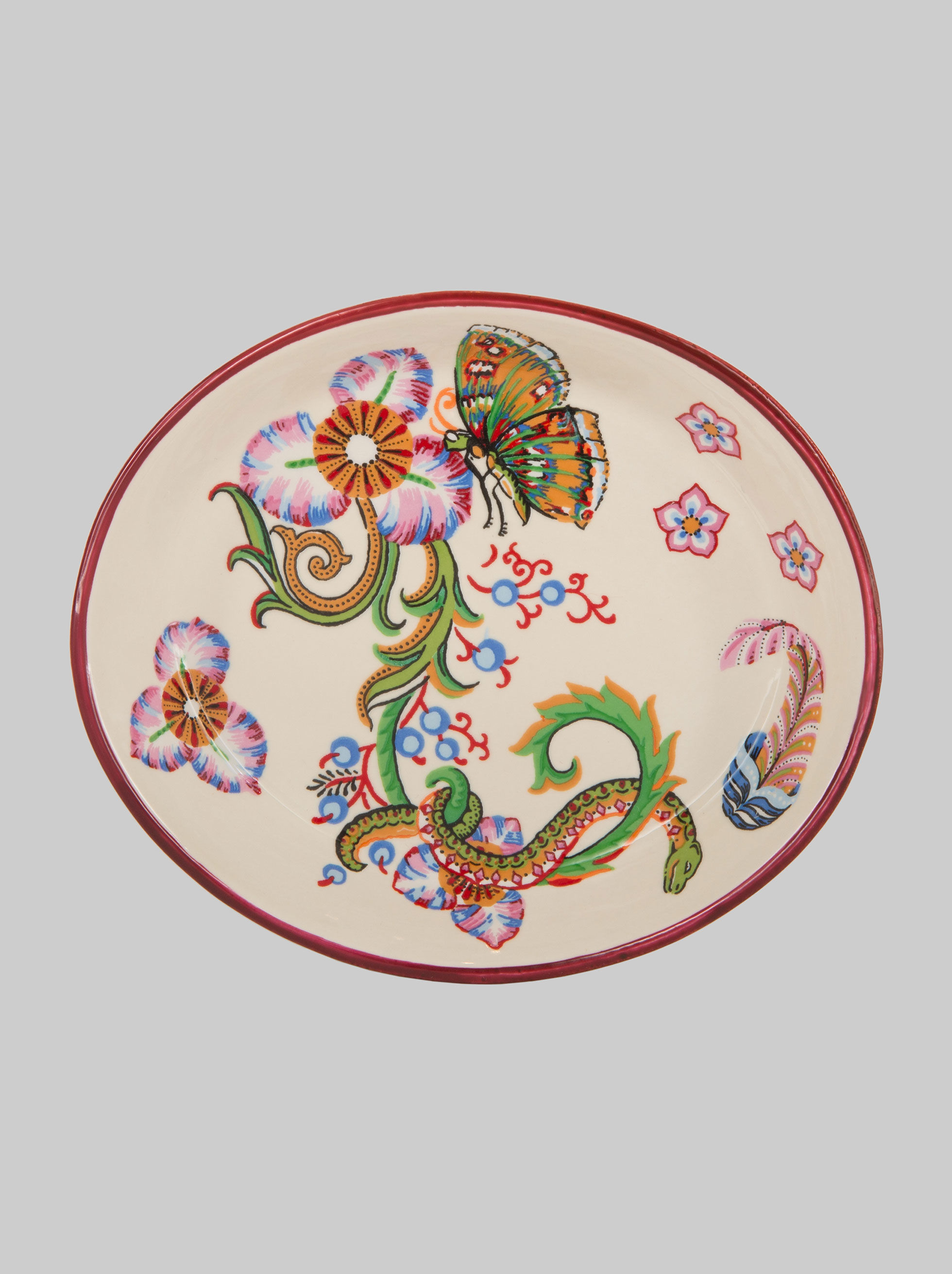 OVAL CERAMIC TRAY