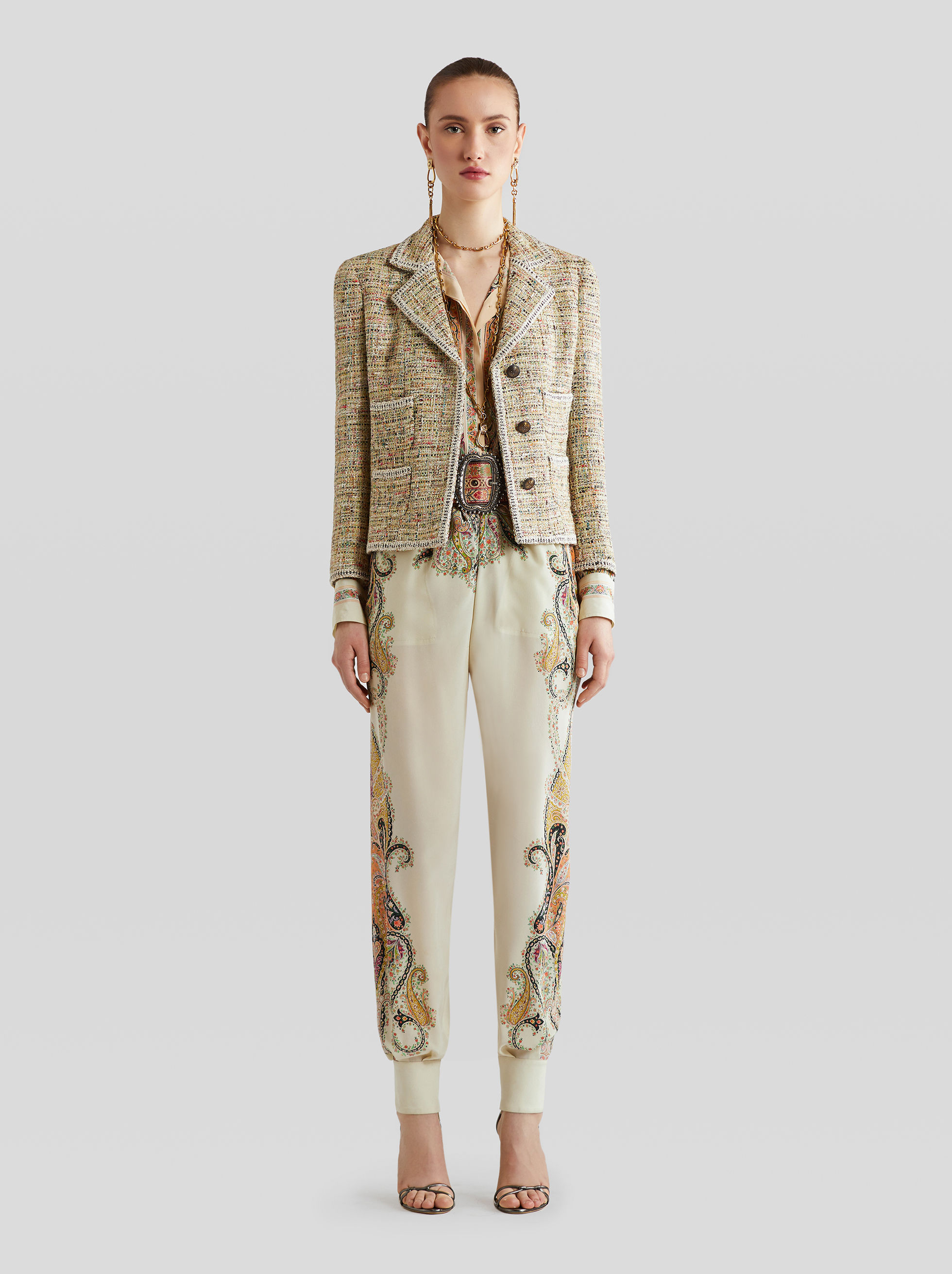 BOUCLÉ TAILORED JACKET