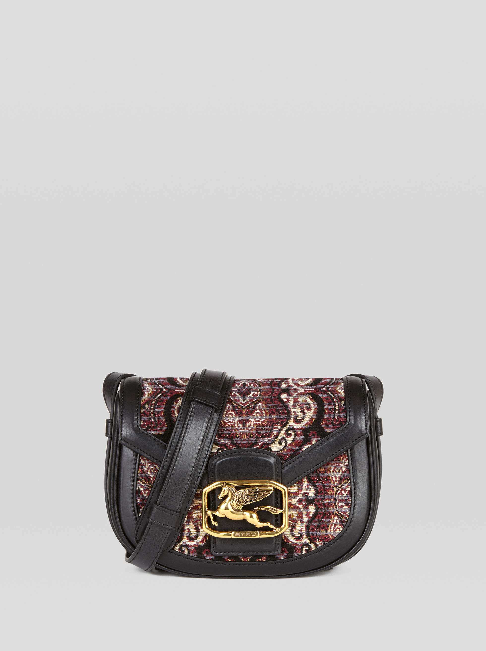 JACQUARD FABRIC PEGASO BAG