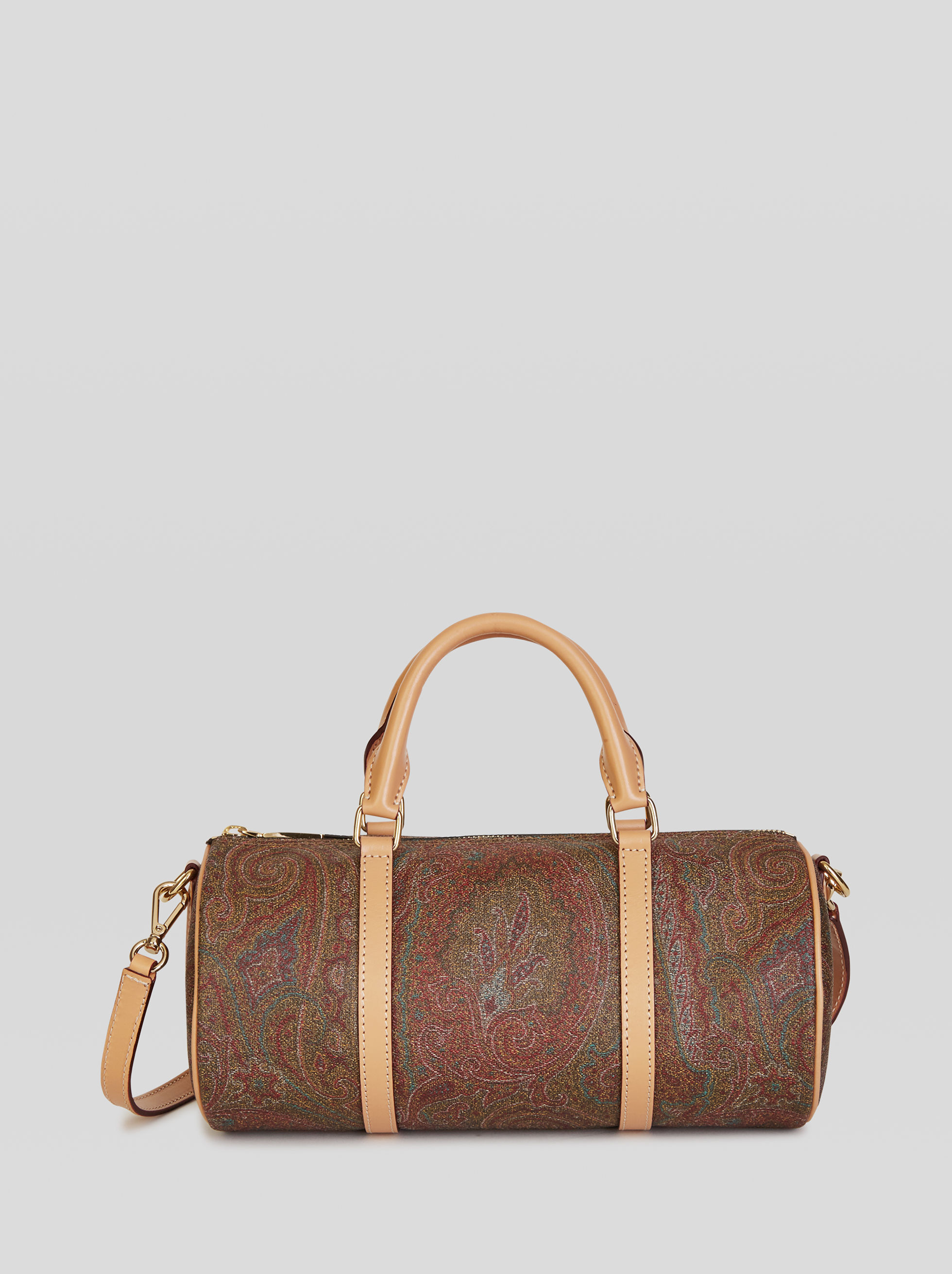 PAISLEY JACQUARD BAULETTO TASCHE