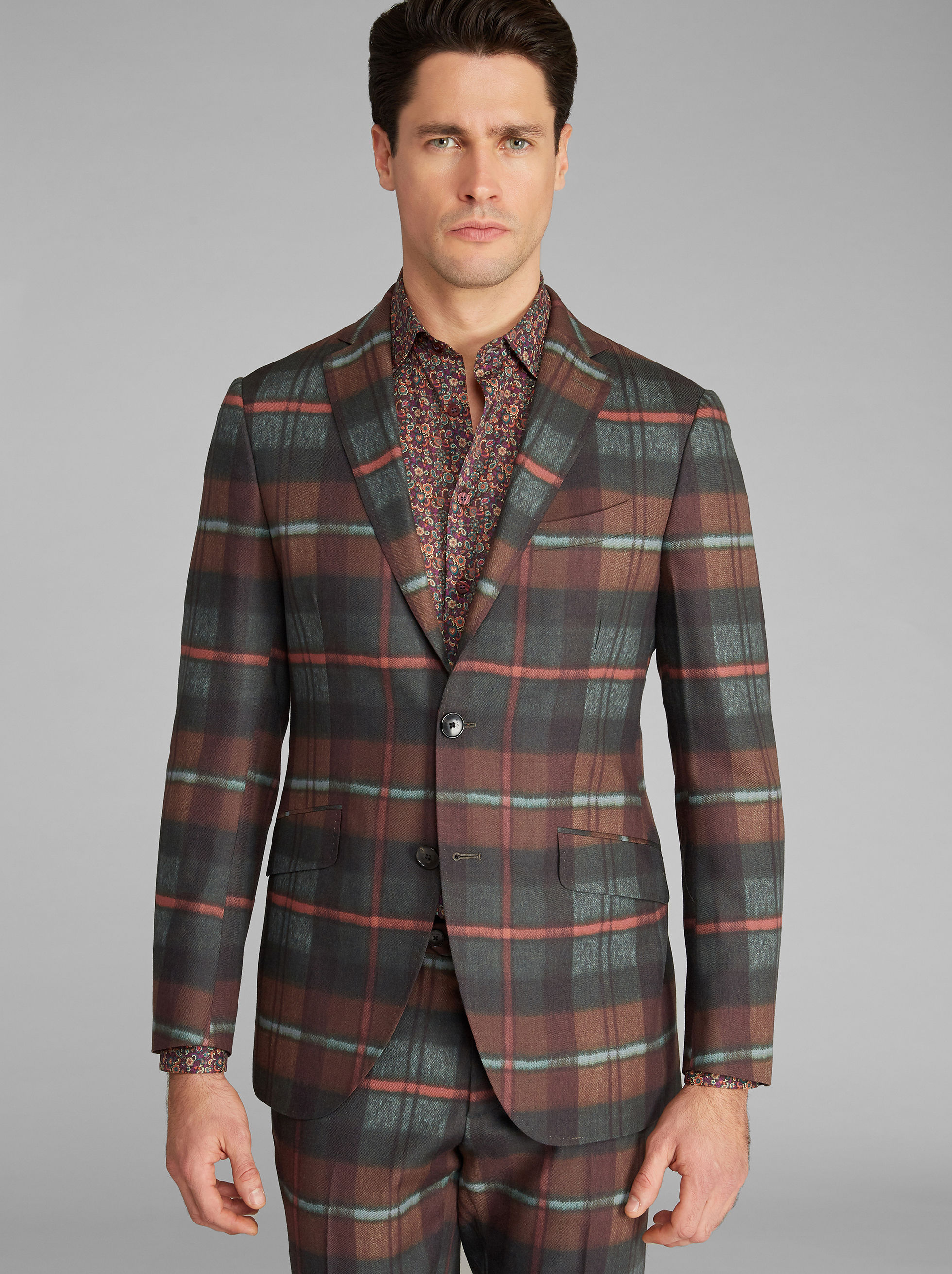 SUPERLEGGERA CHECK JACKET