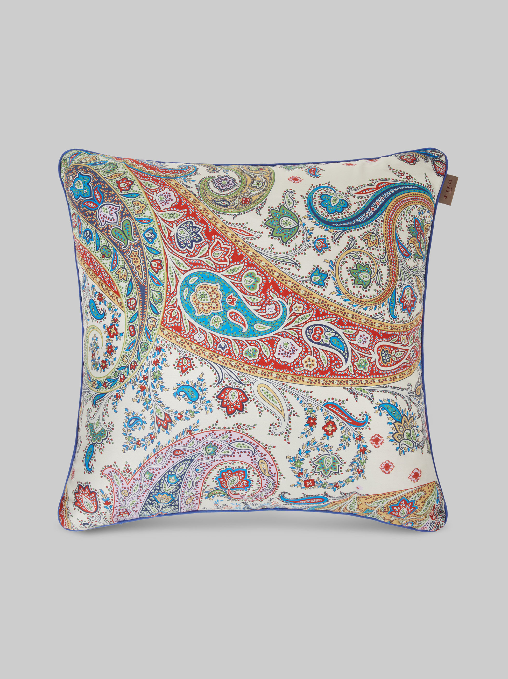 PAISLEY SATIN CUSHION