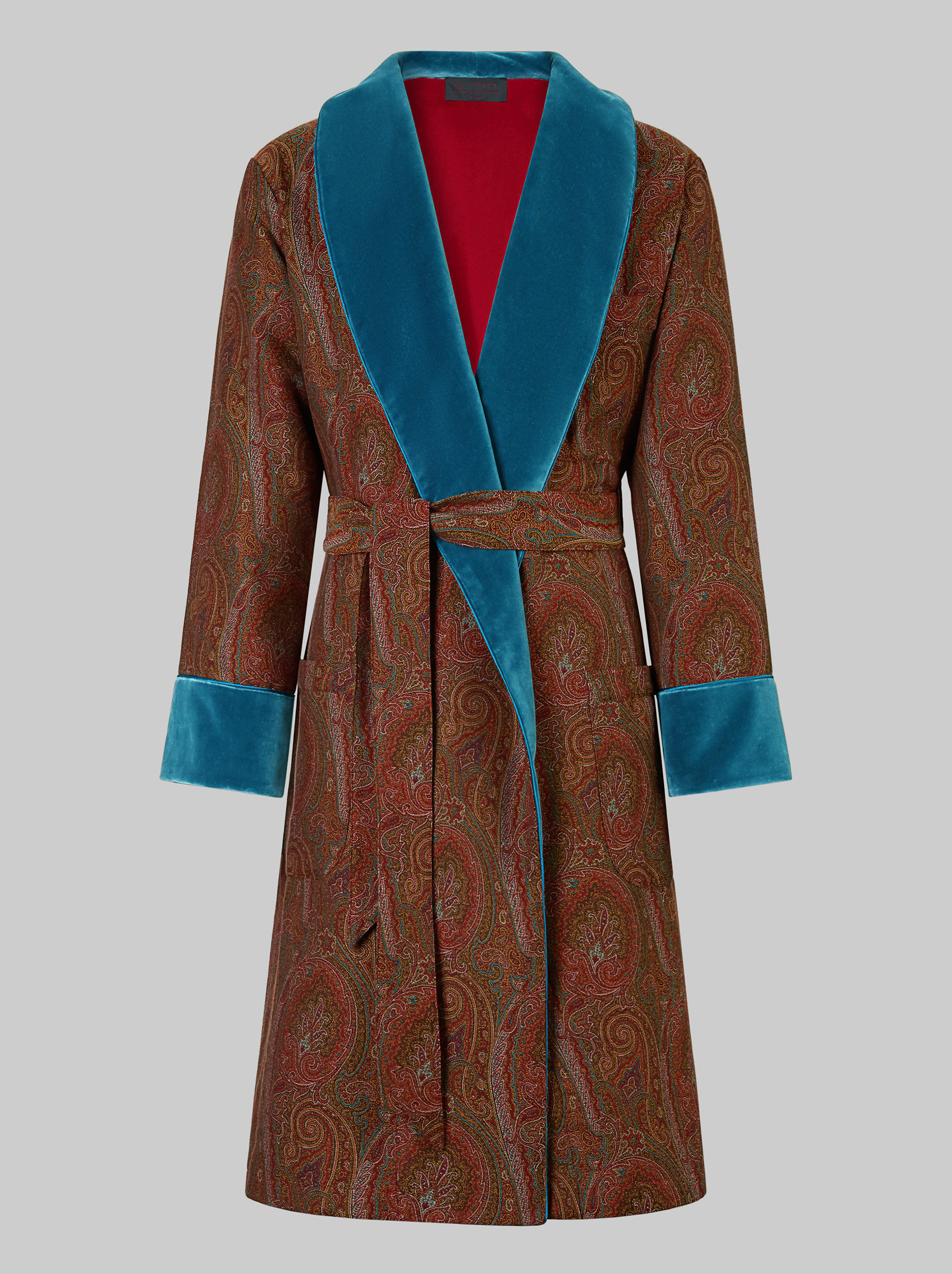 PAISLEY DESIGN DRESSING GOWN