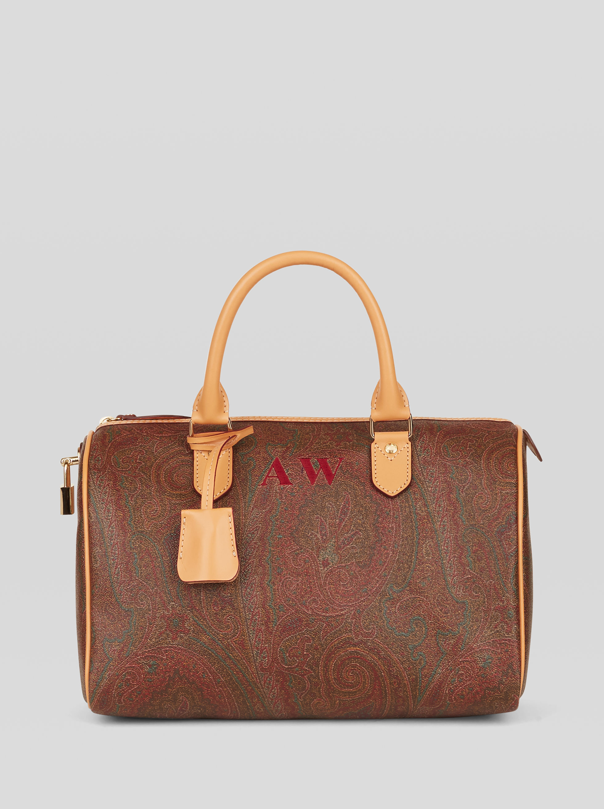 PAISLEY BOSTON BAG