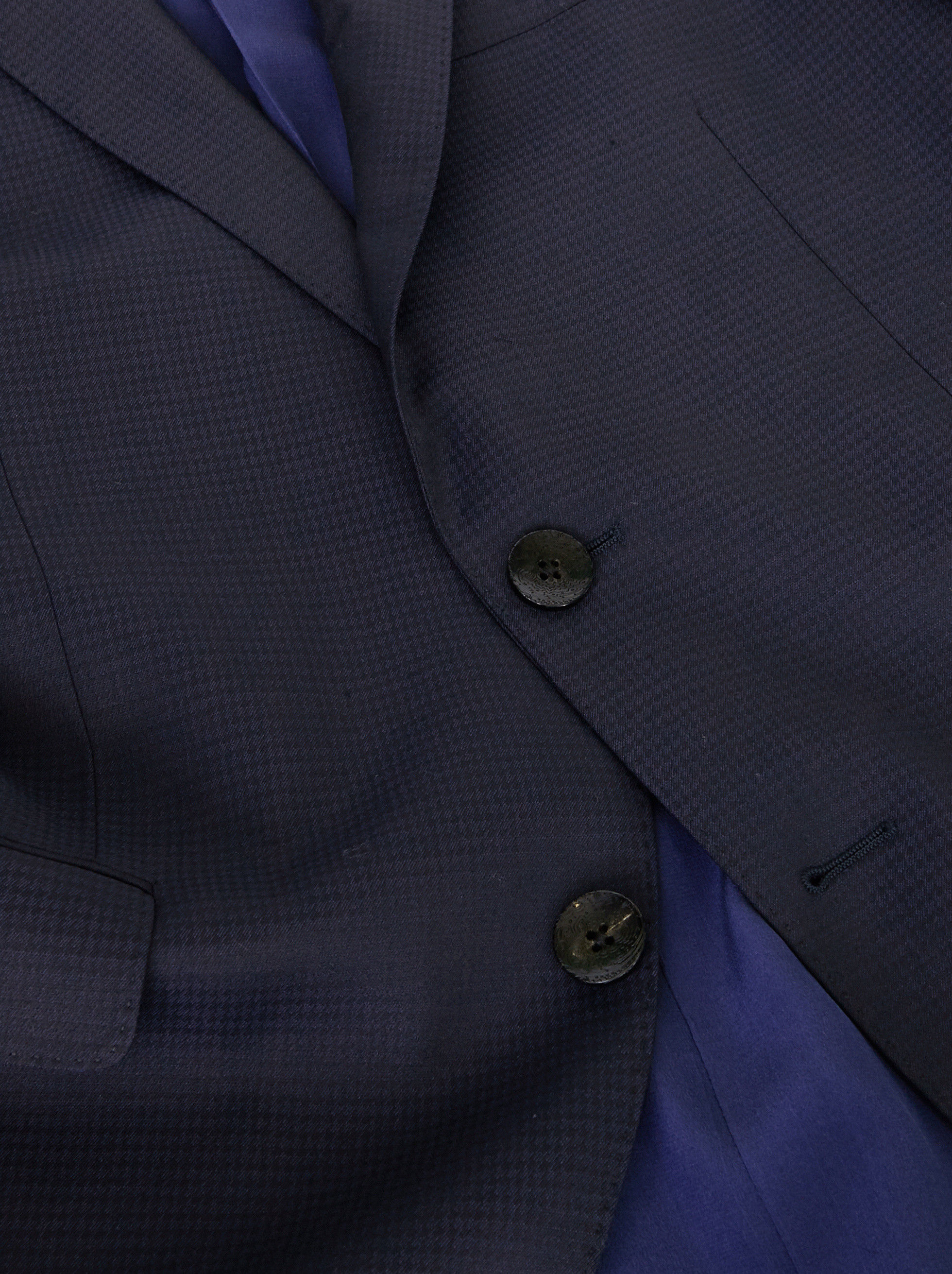 WOOL SUIT WITH DOUBLE LINING