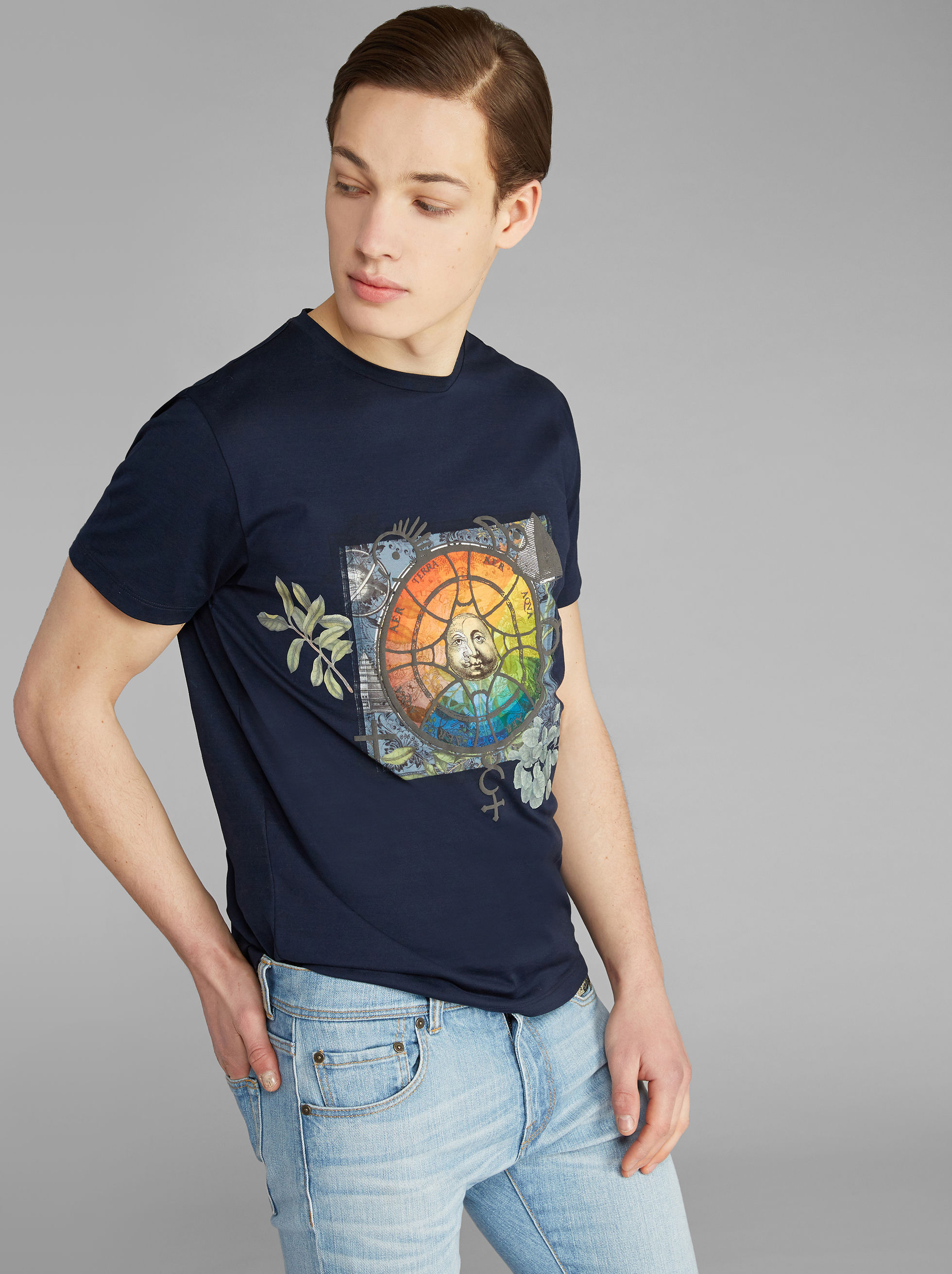 T-SHIRT STAMPA MEDIEVALE