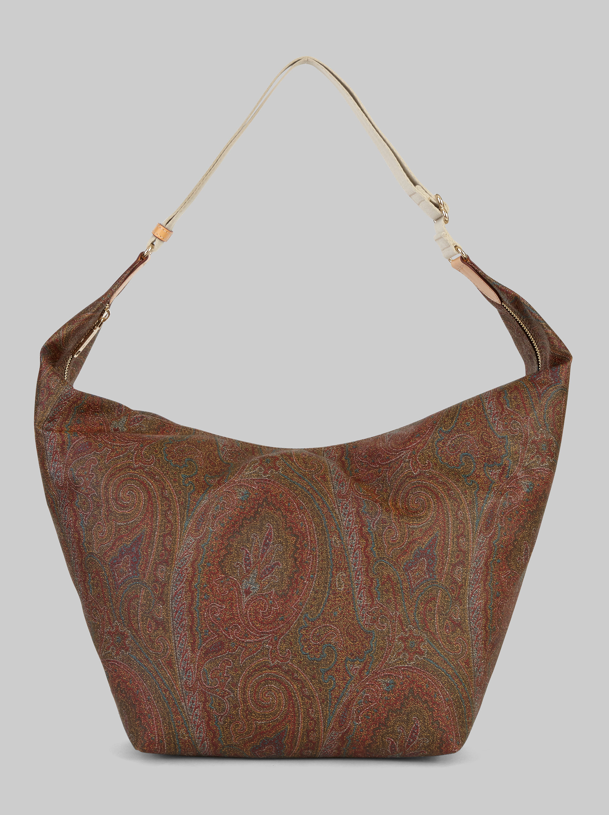 PAISLEY SHOULDER BAG WITH MAKE-UP BAG