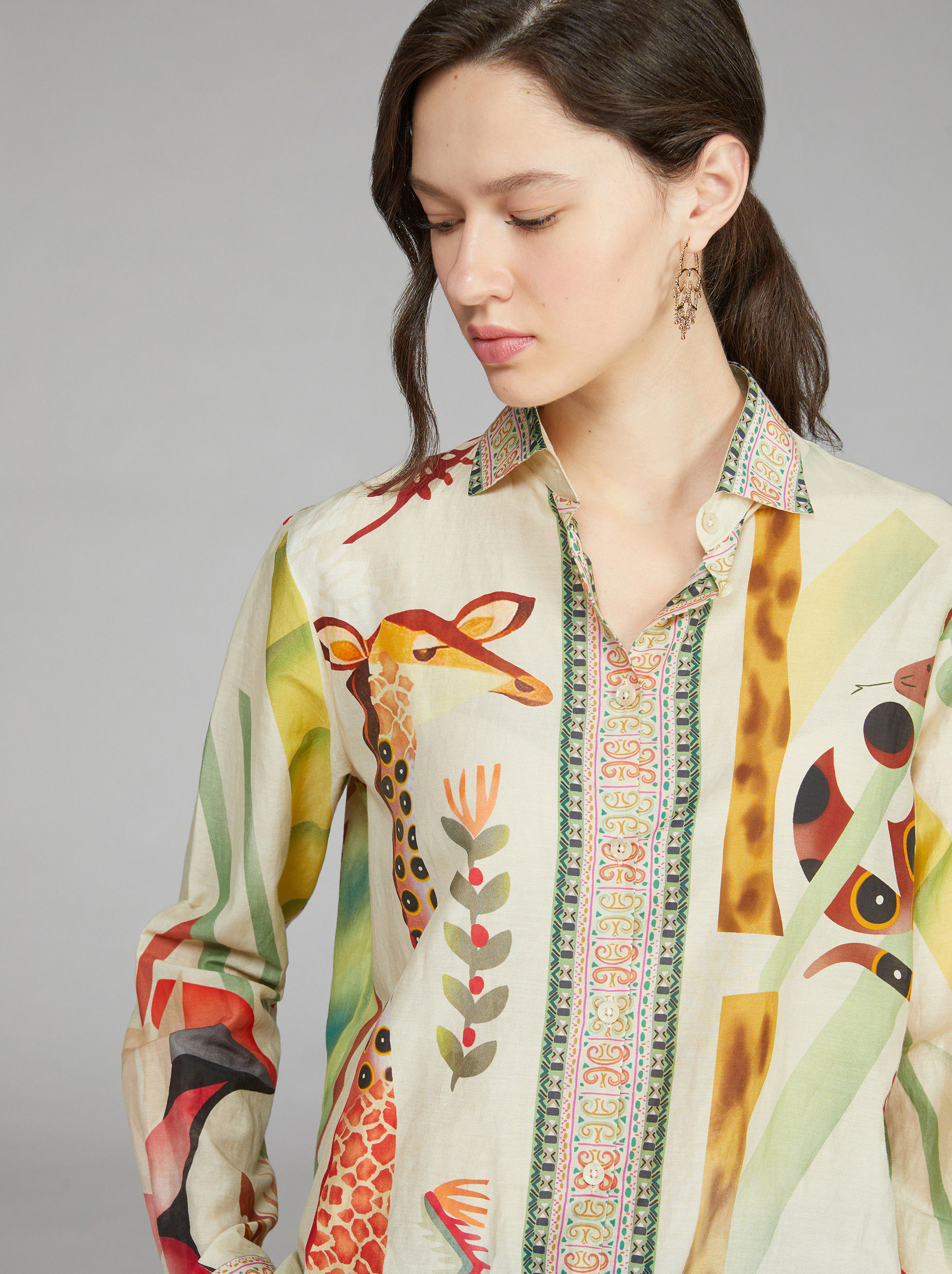 SAFARI SILK SHIRT