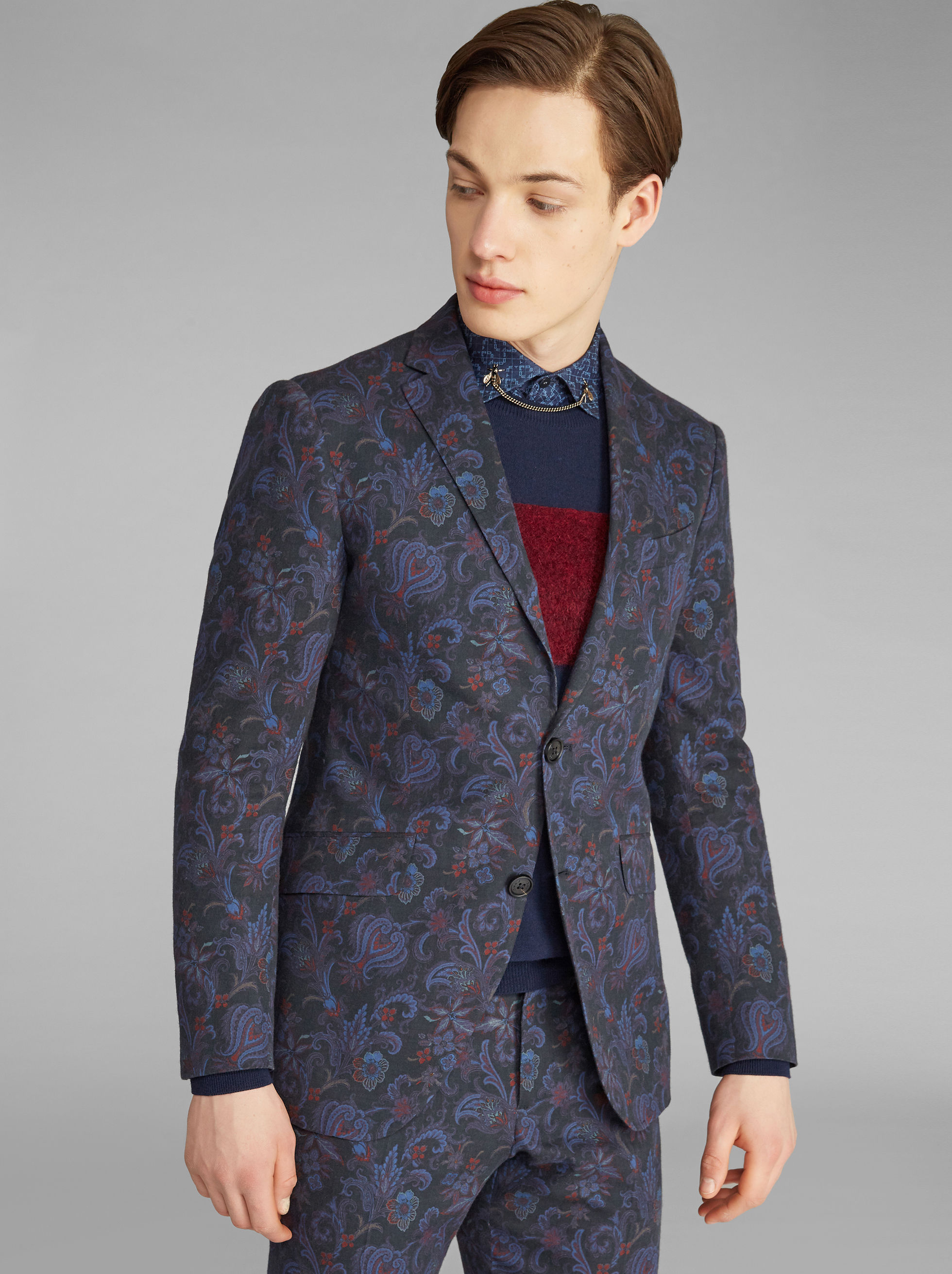 SUPERLEGGERA FLORAL-PRINT JACKET