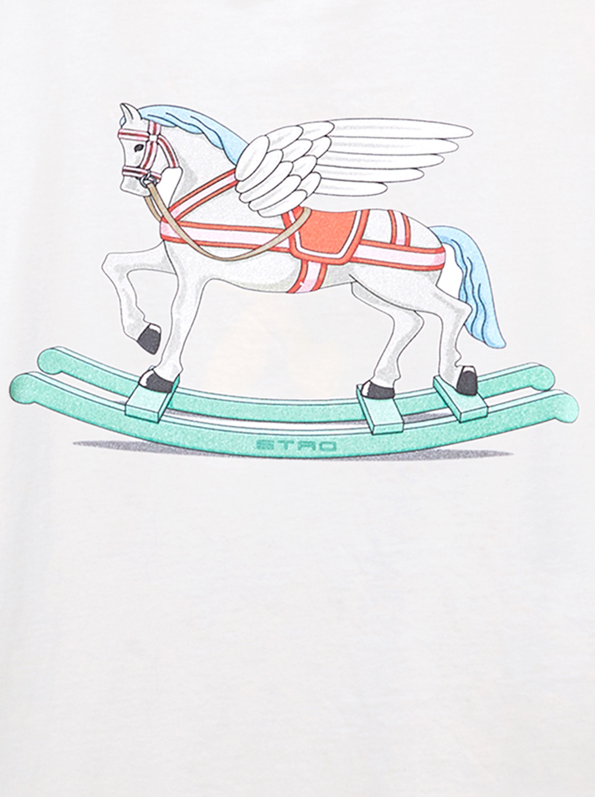 T-SHIRT WITH PEGASO