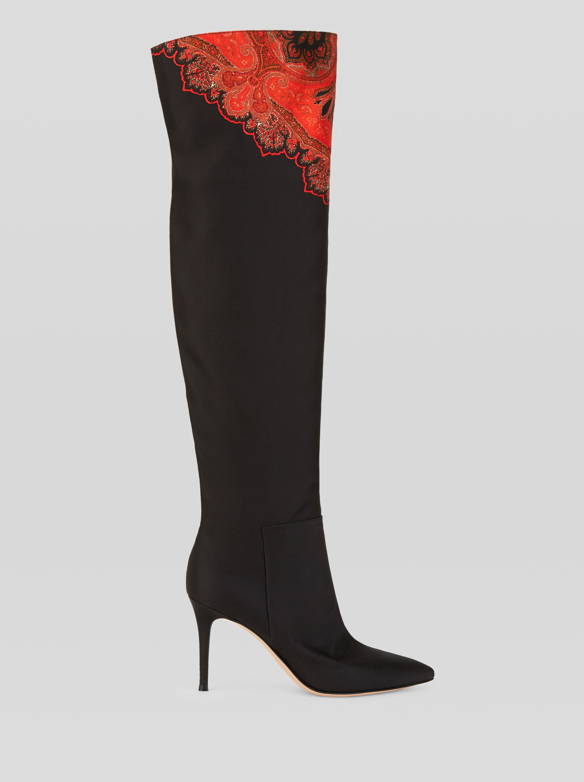 PAISLEY GIANVITO ROSSI BOOTS FOR ETRO