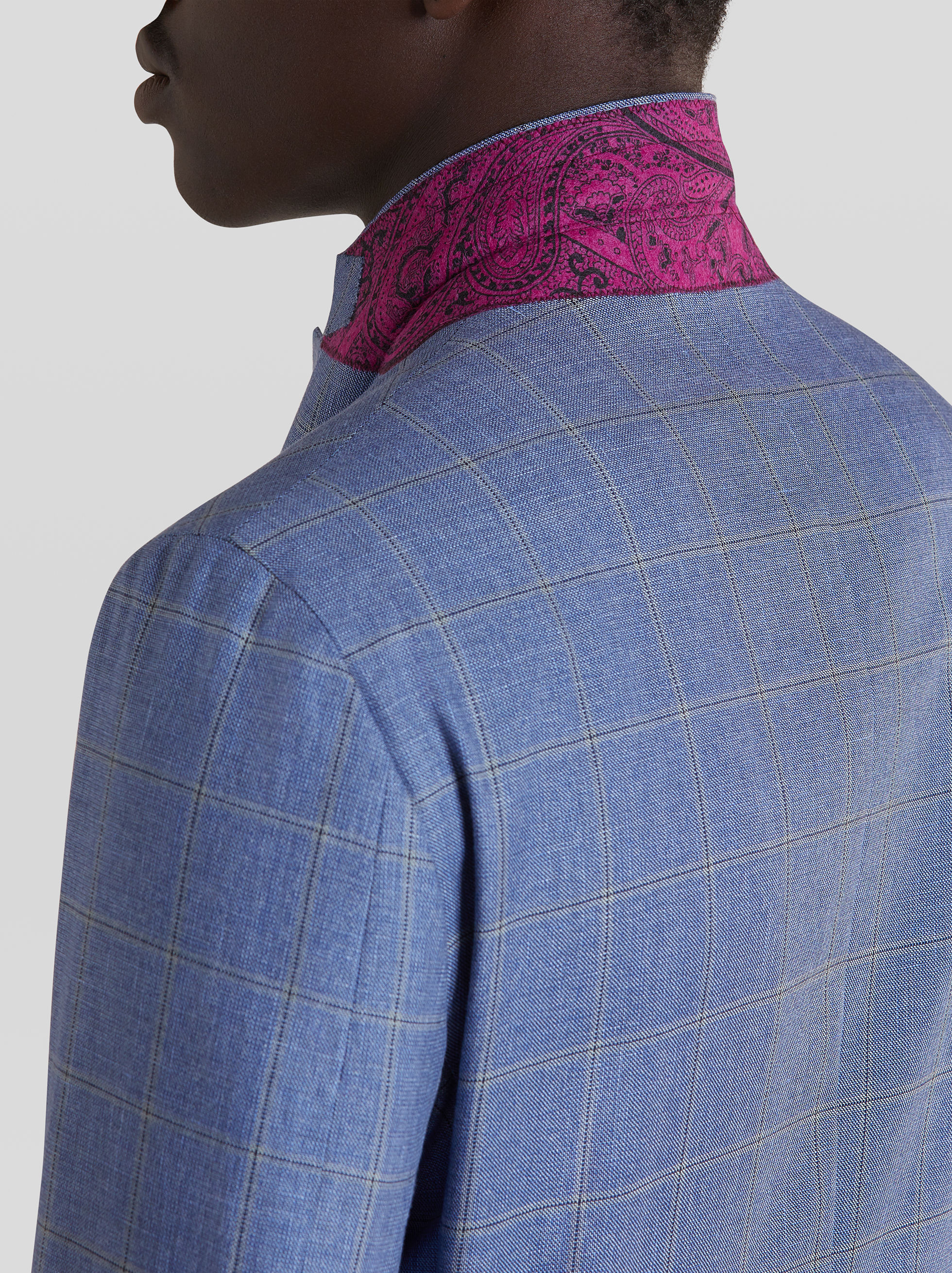 DECONSTRUCTED CHECK WOOL SUIT