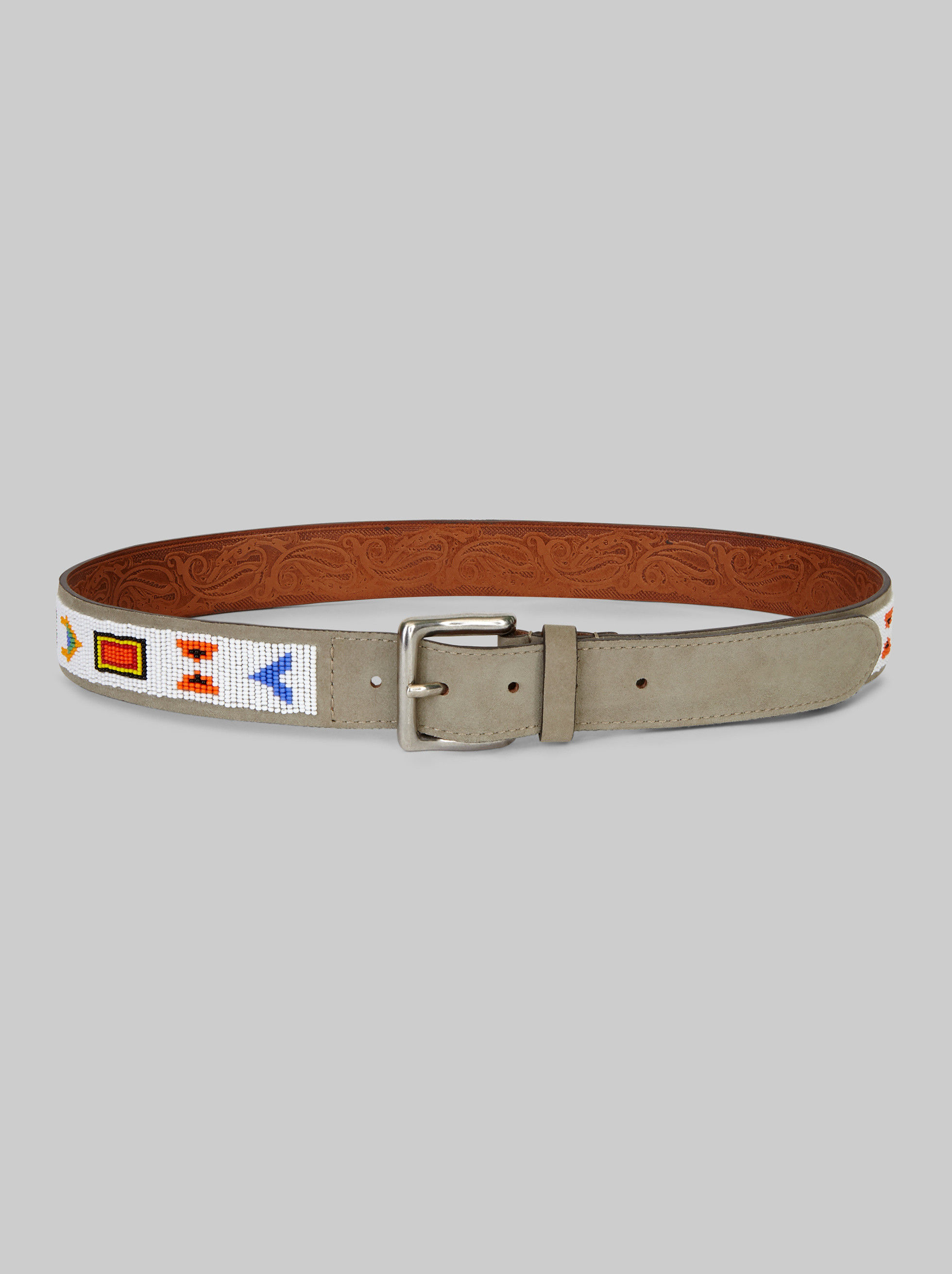 GEOMETRIC EMBROIDERED BELT