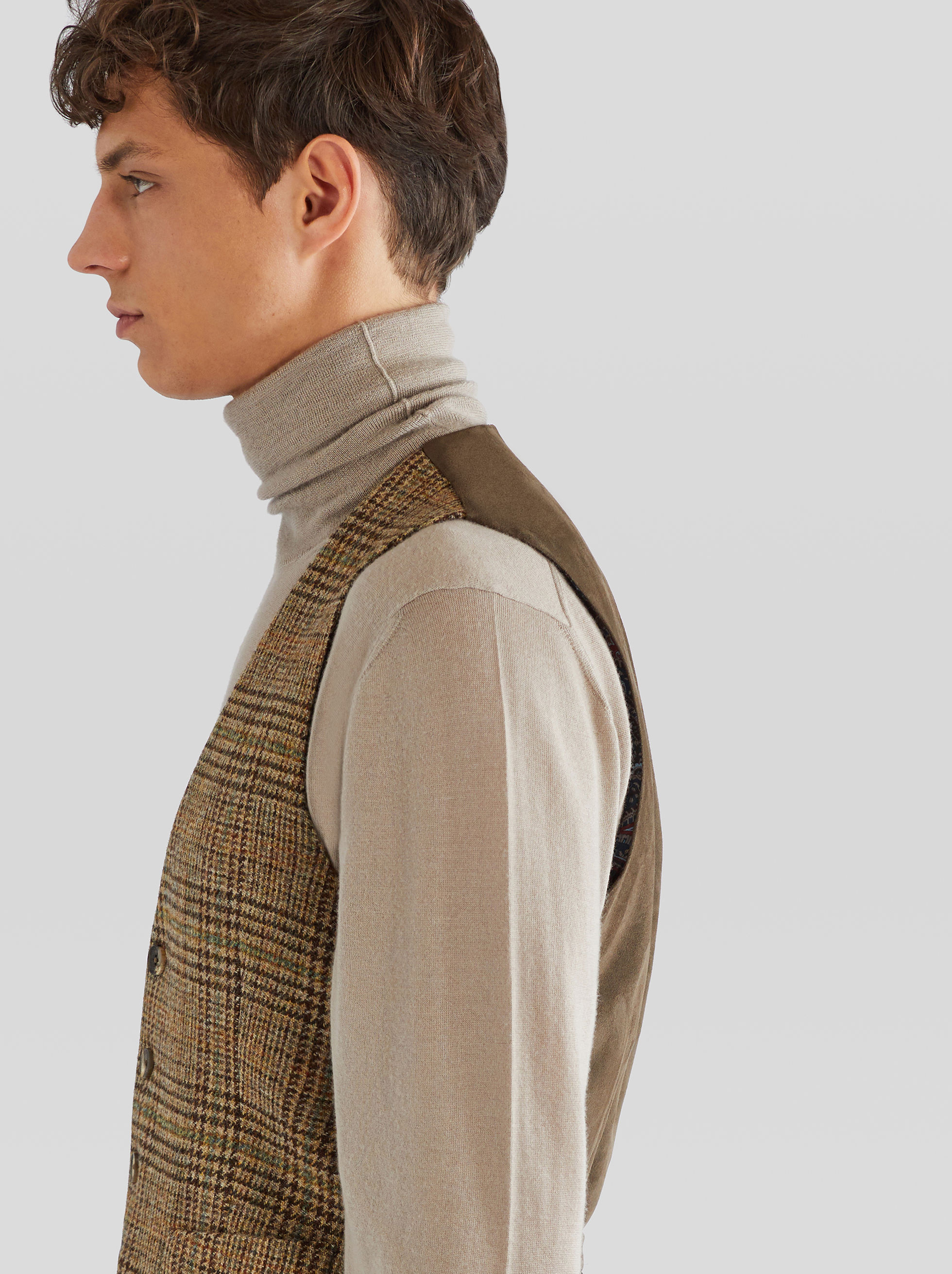 PRINCE OF WALES TAILORED WAISTCOAT