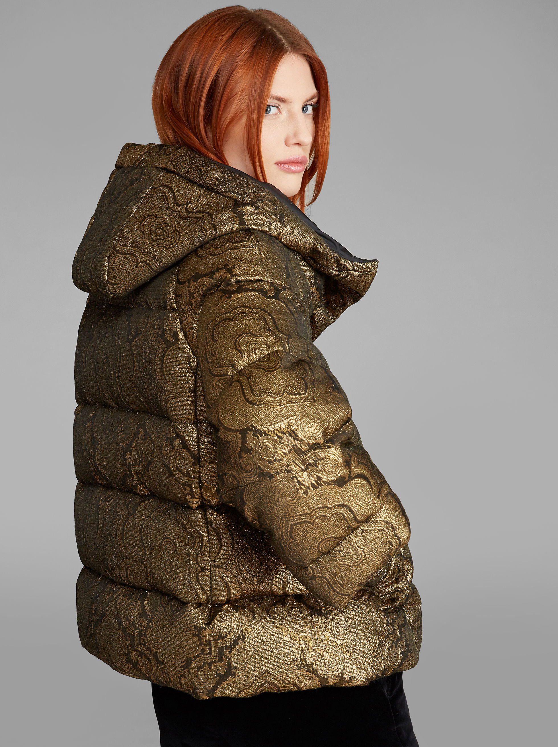 JACQUARD DOWN JACKET
