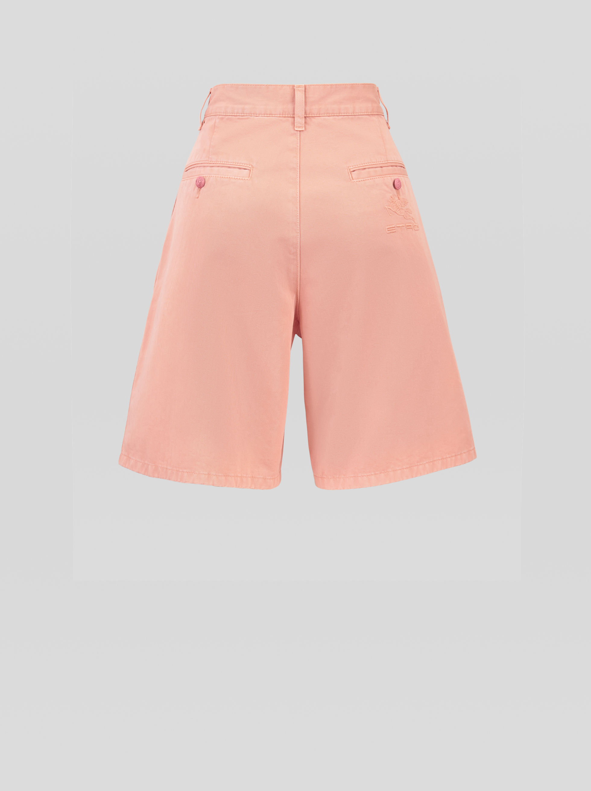 COTTON BERMUDAS
