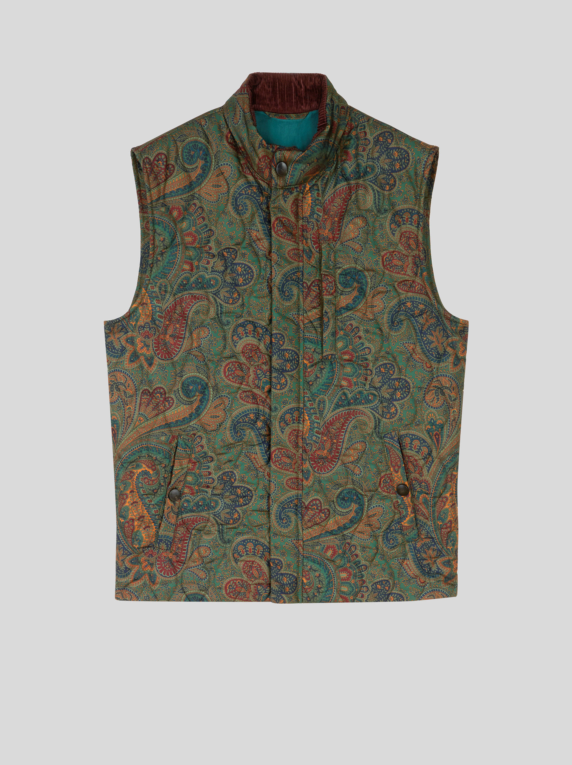 BENETROESSERE QUILTED GILET