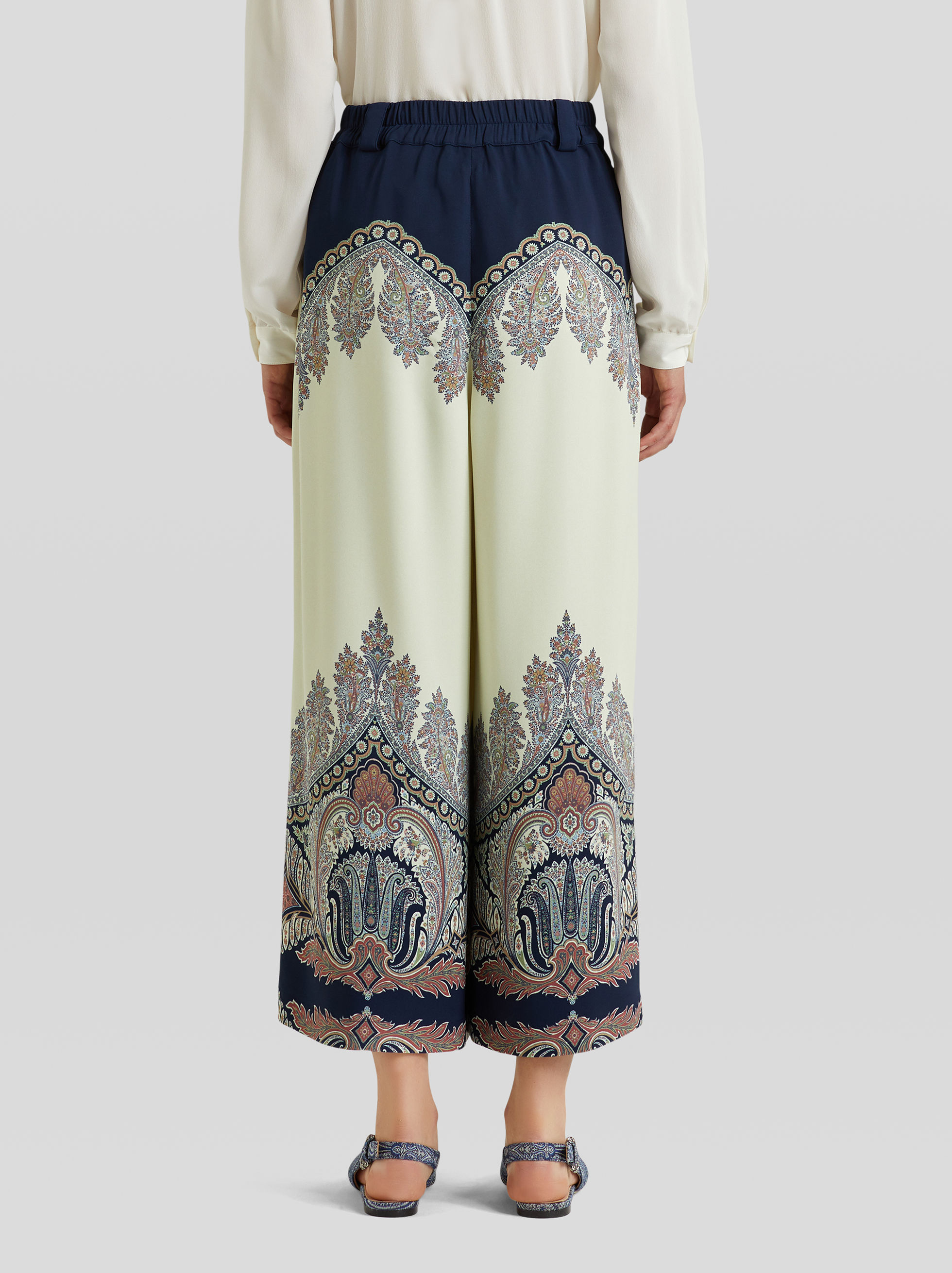 FLORAL PAISLEY CULOTTES
