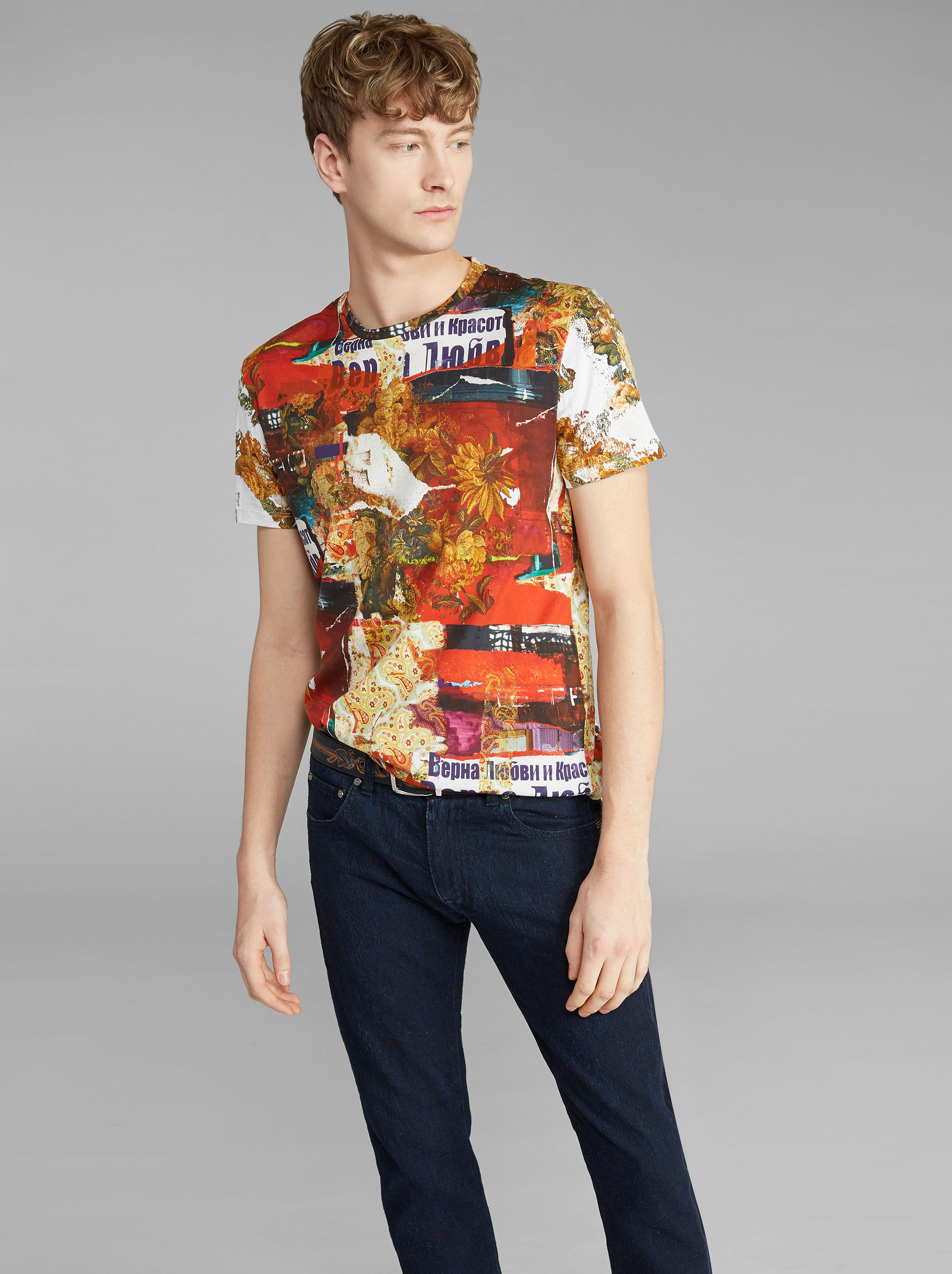 COLLAGE-PRINT T-SHIRT