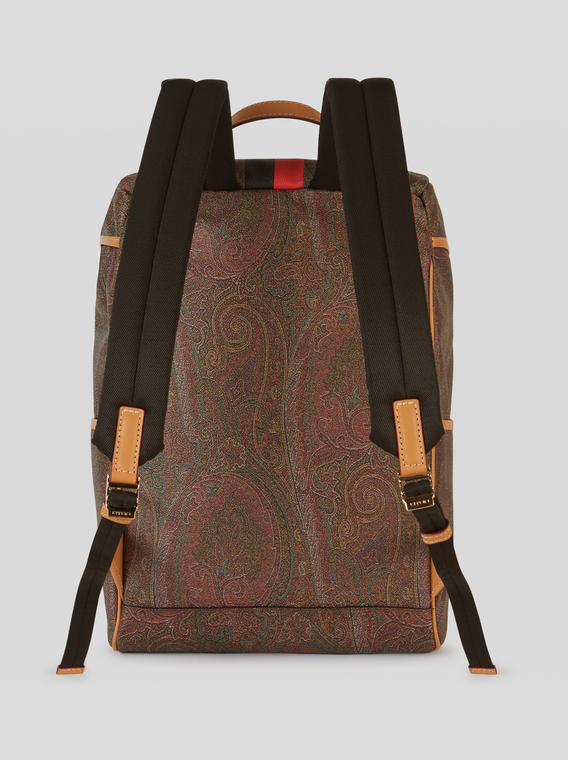 PAISLEY FABRIC BACKPACK