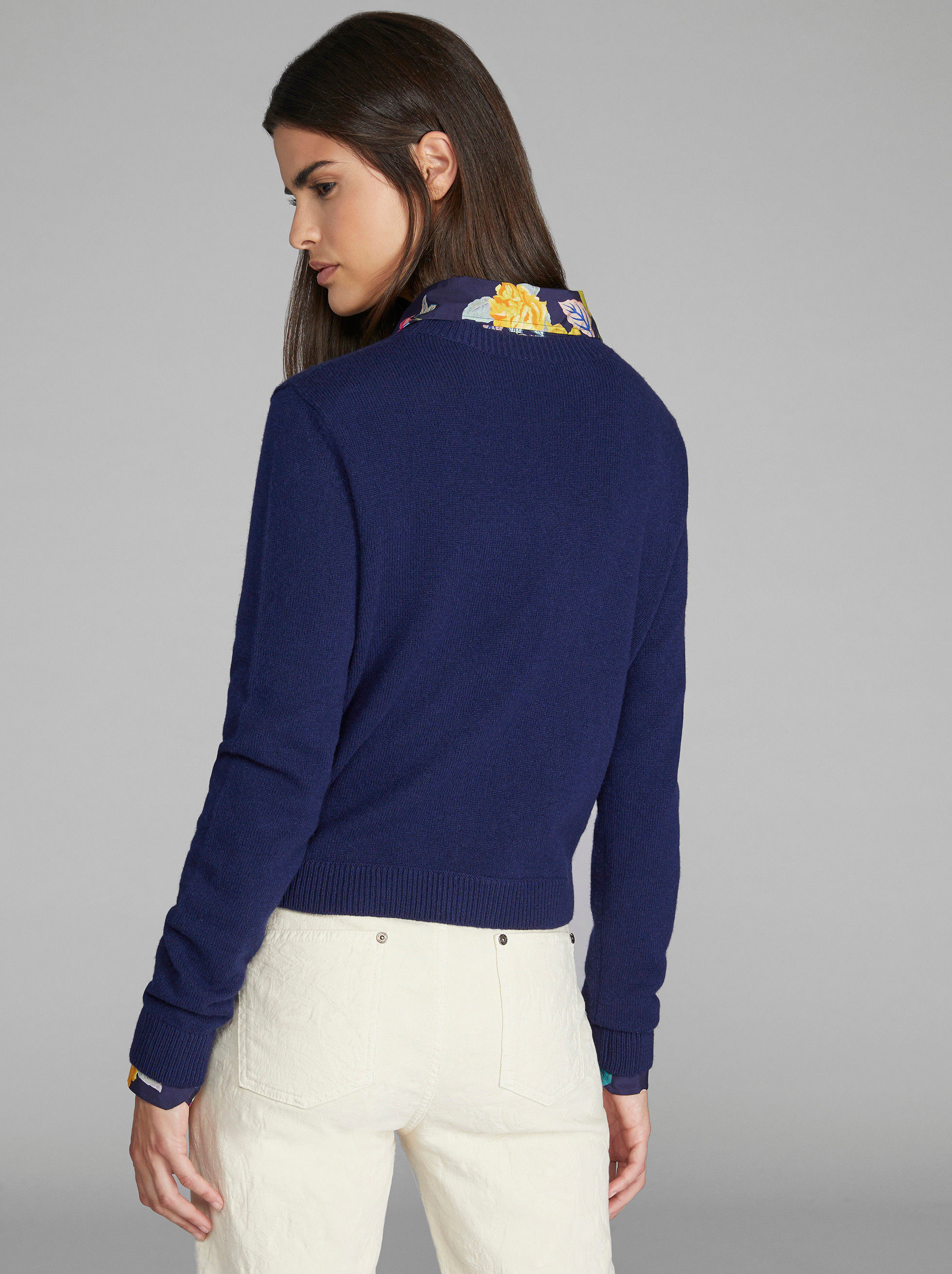 FLORAL EMBROIDERED JUMPER