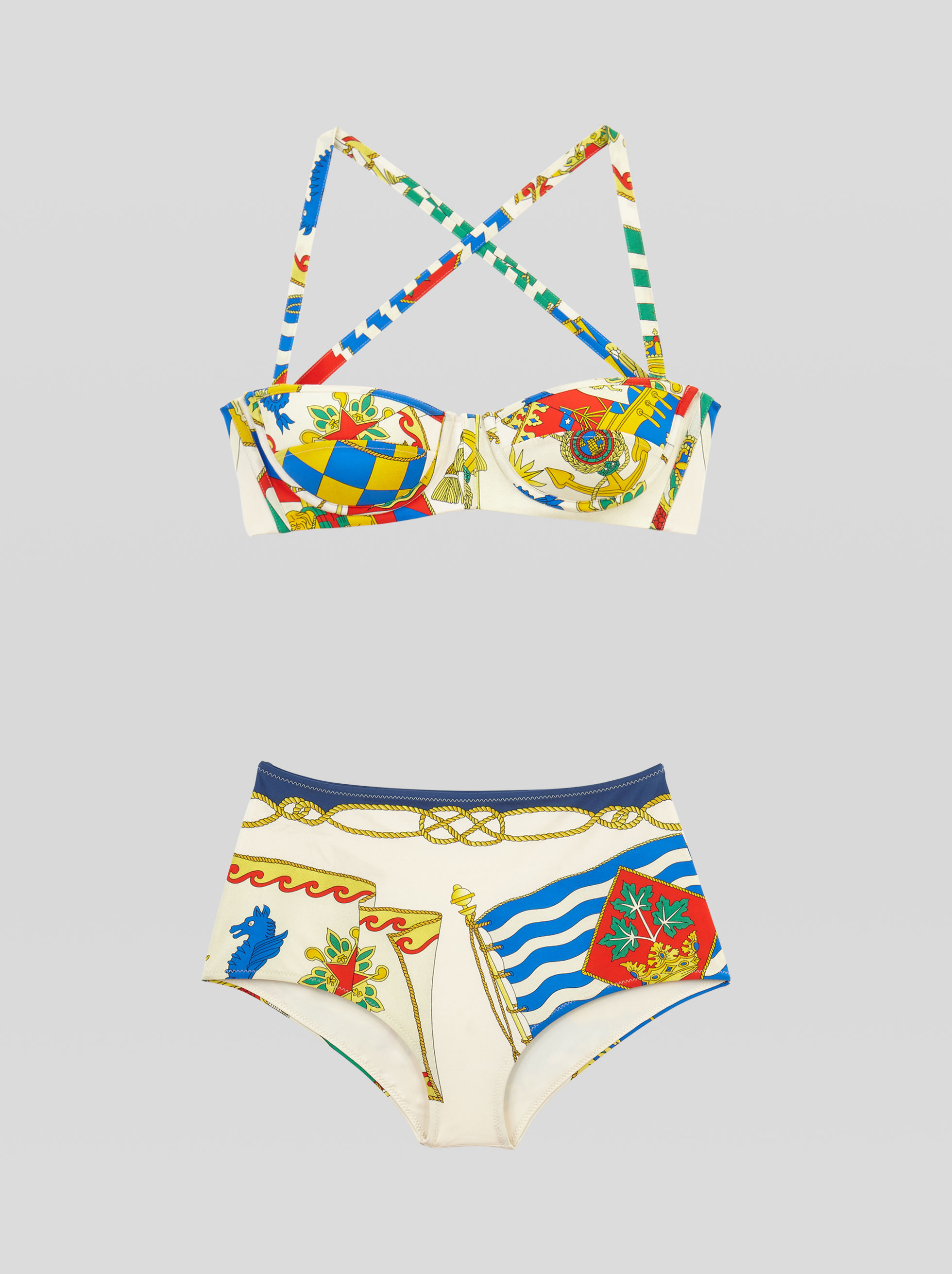 NAUTICAL PRINT BIKINI