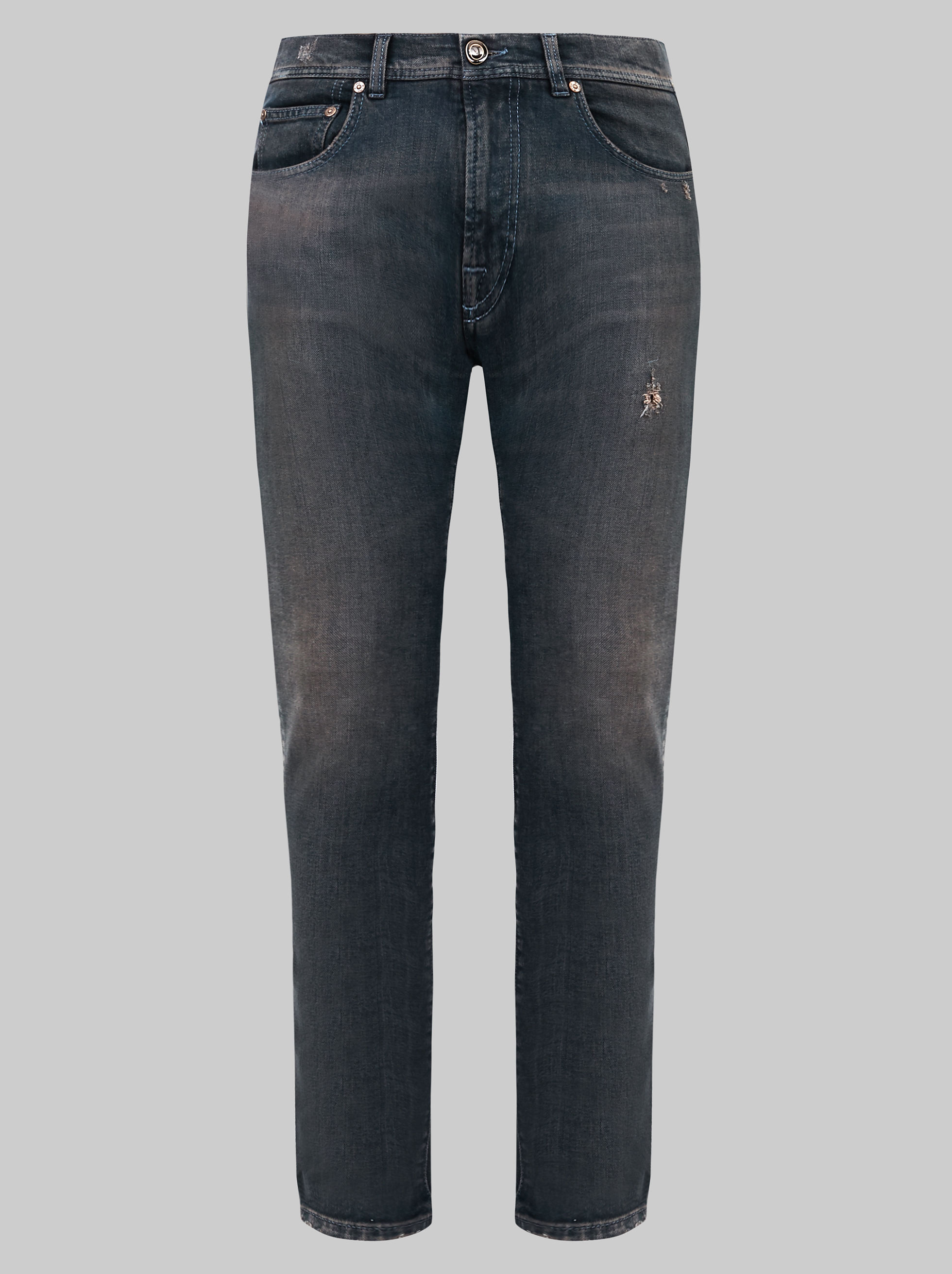 USED-EFFECT JEANS