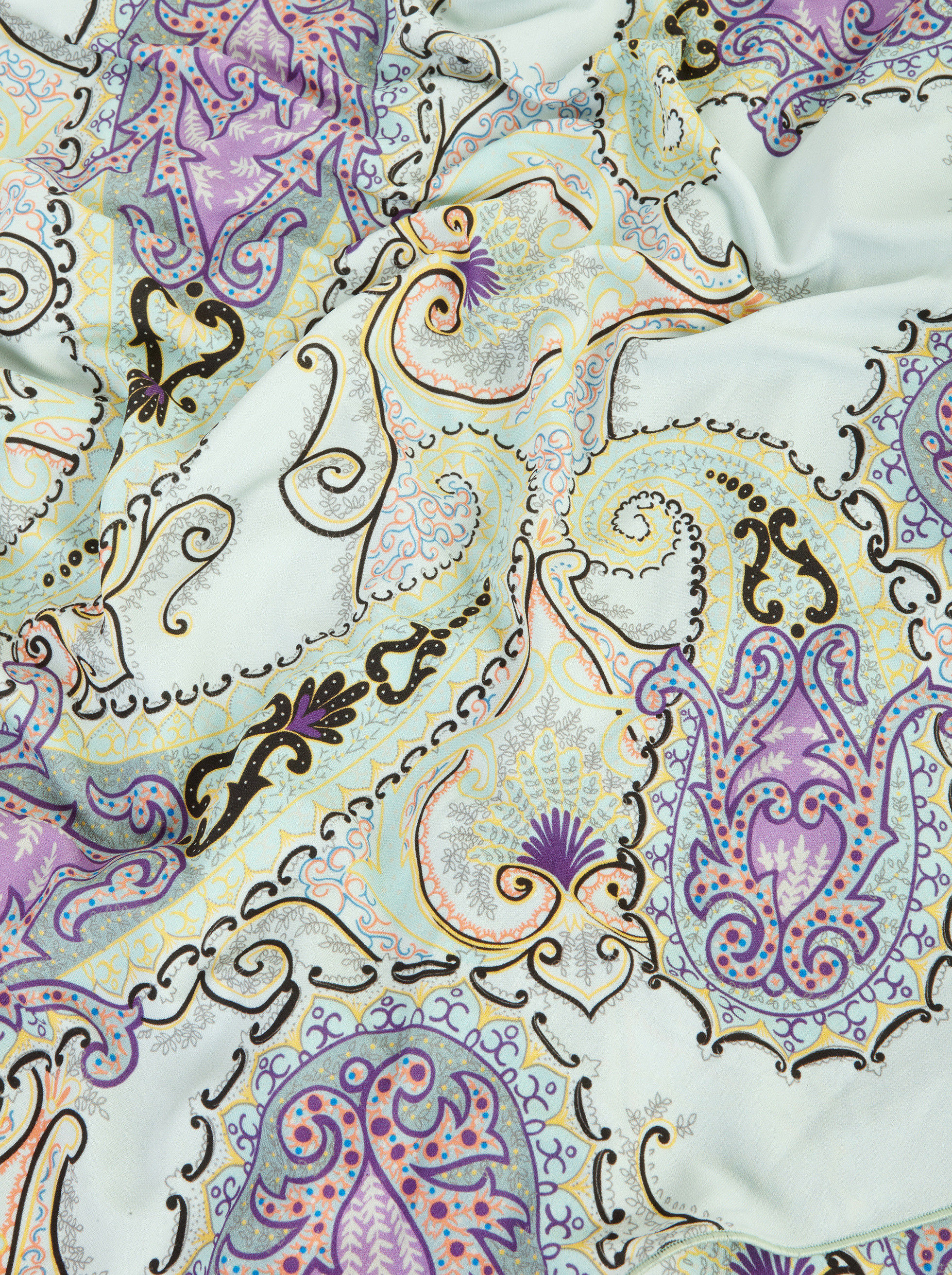 ABITO IN JERSEY CON STAMPA PAISLEY