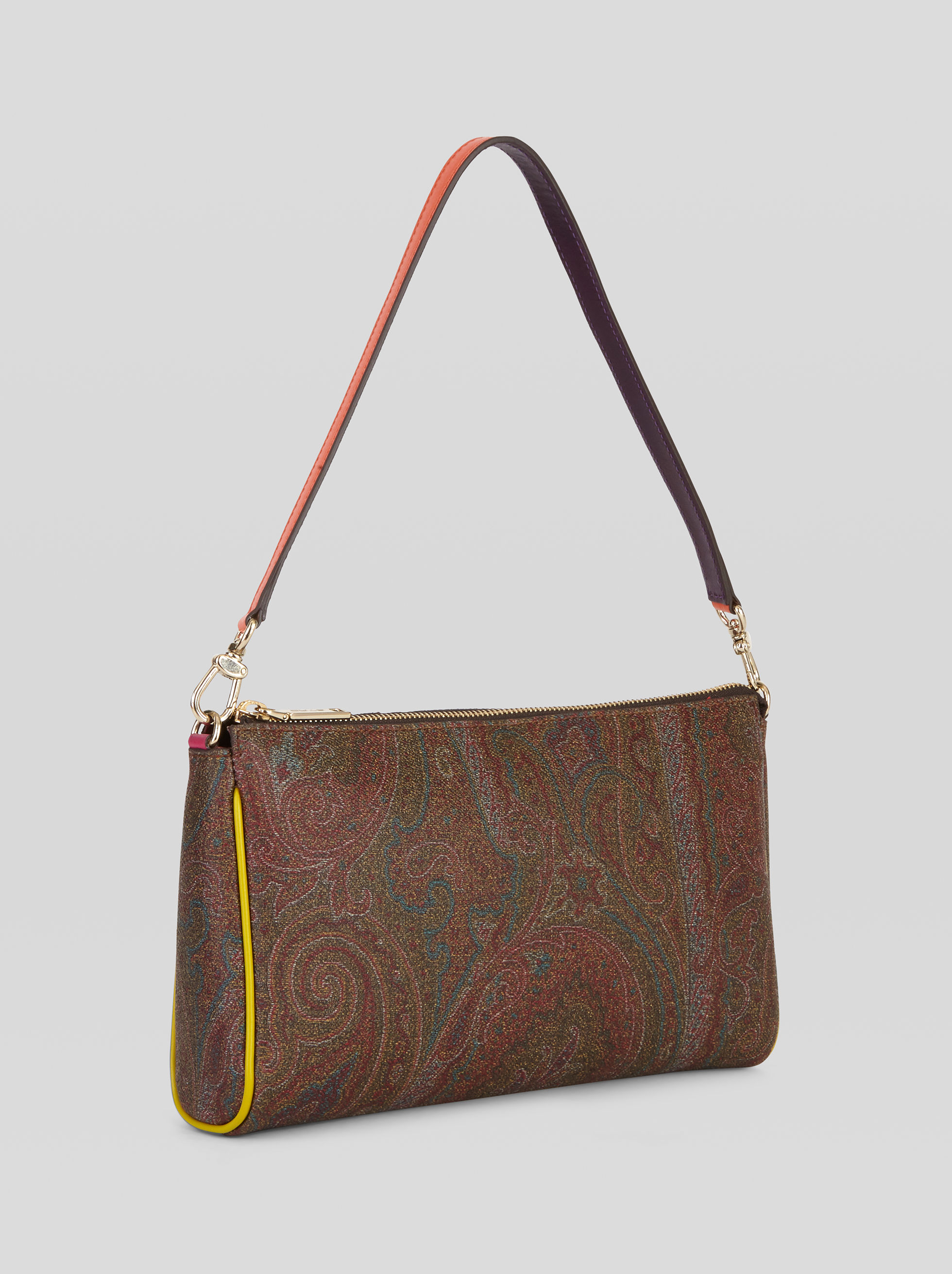 PAISLEY MINI BAG WITH MULTICOLOURED INSERTS