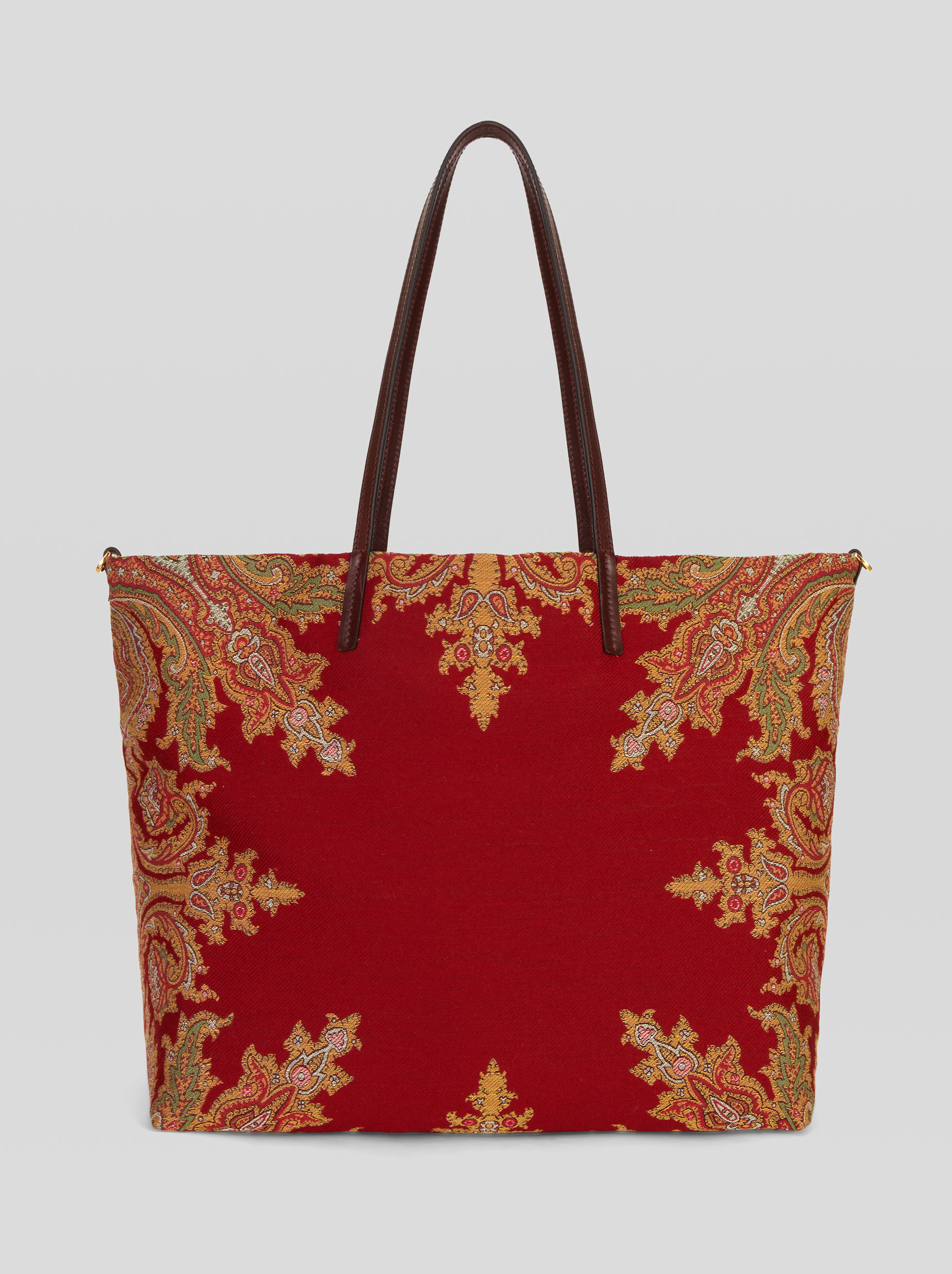 PAISLEY DOUBLE-SIDED SHOPPER