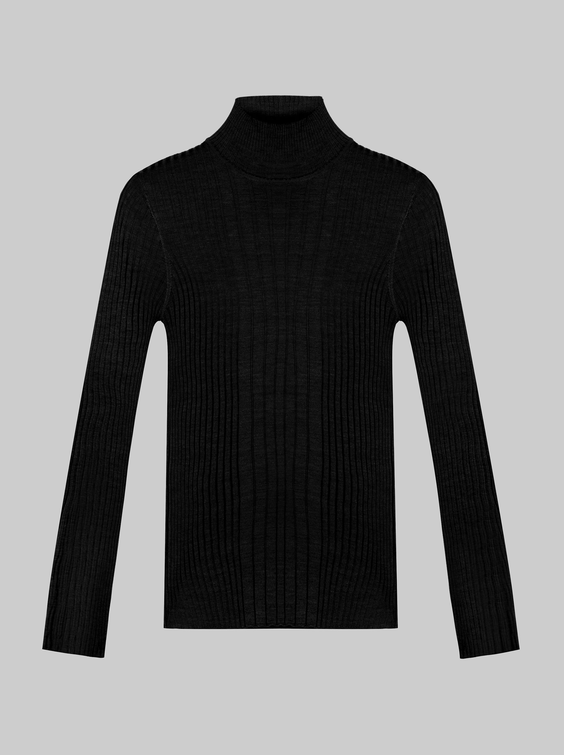 RIBBED JUMPER