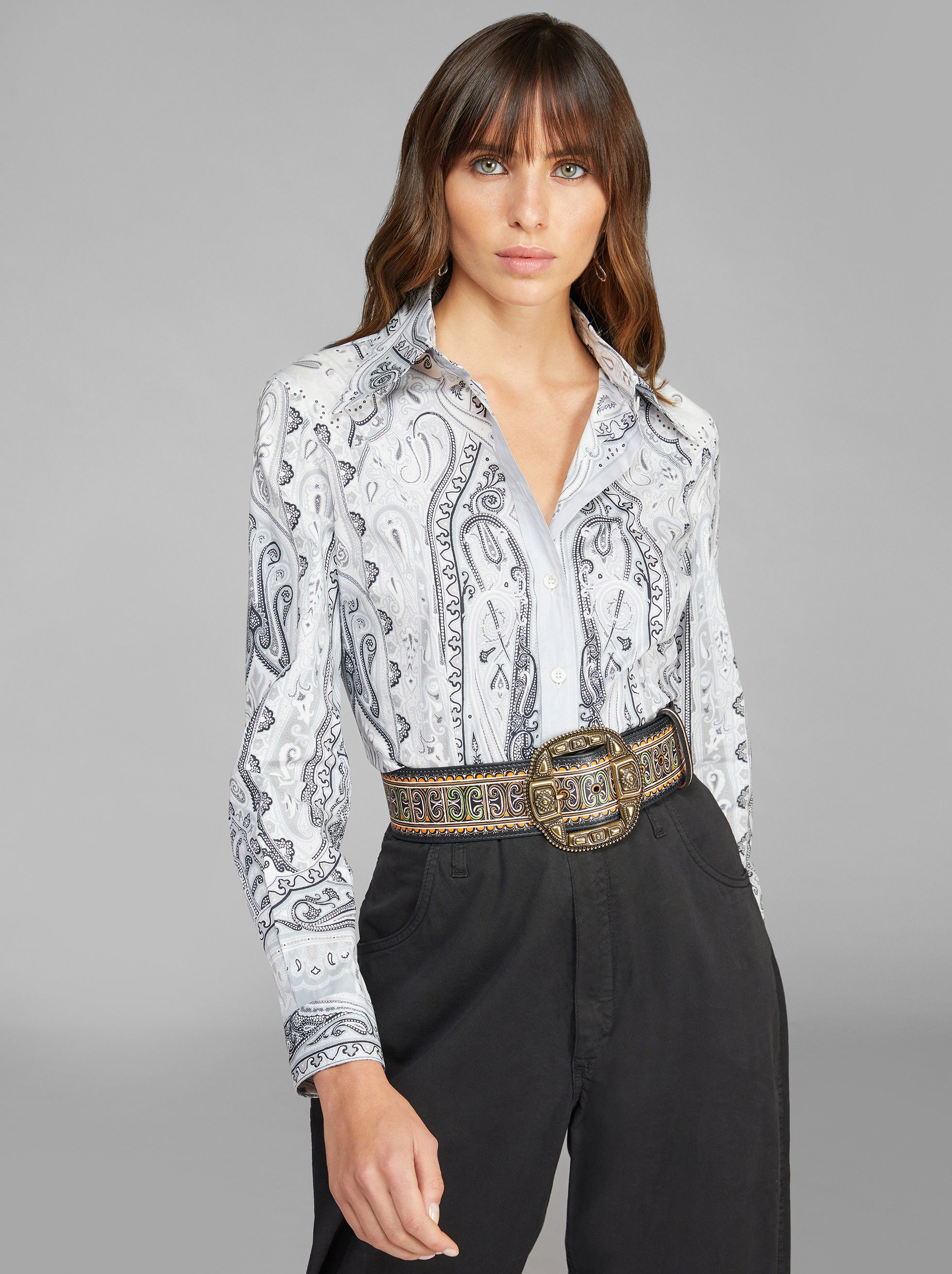 PAISLEY GRAPHIC SHIRT