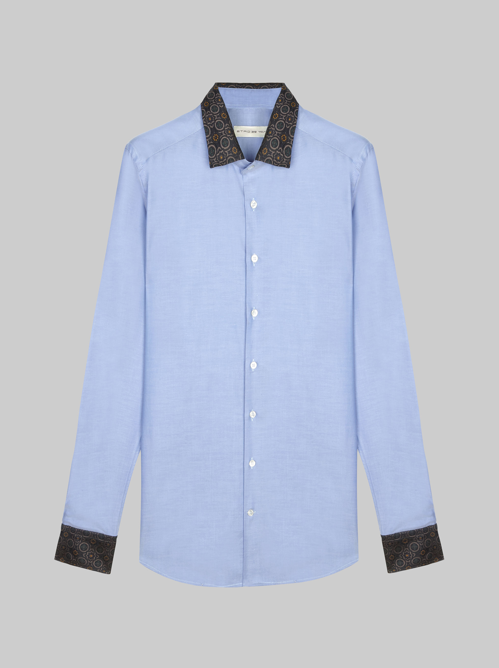 TWO-FABRIC SHIRT