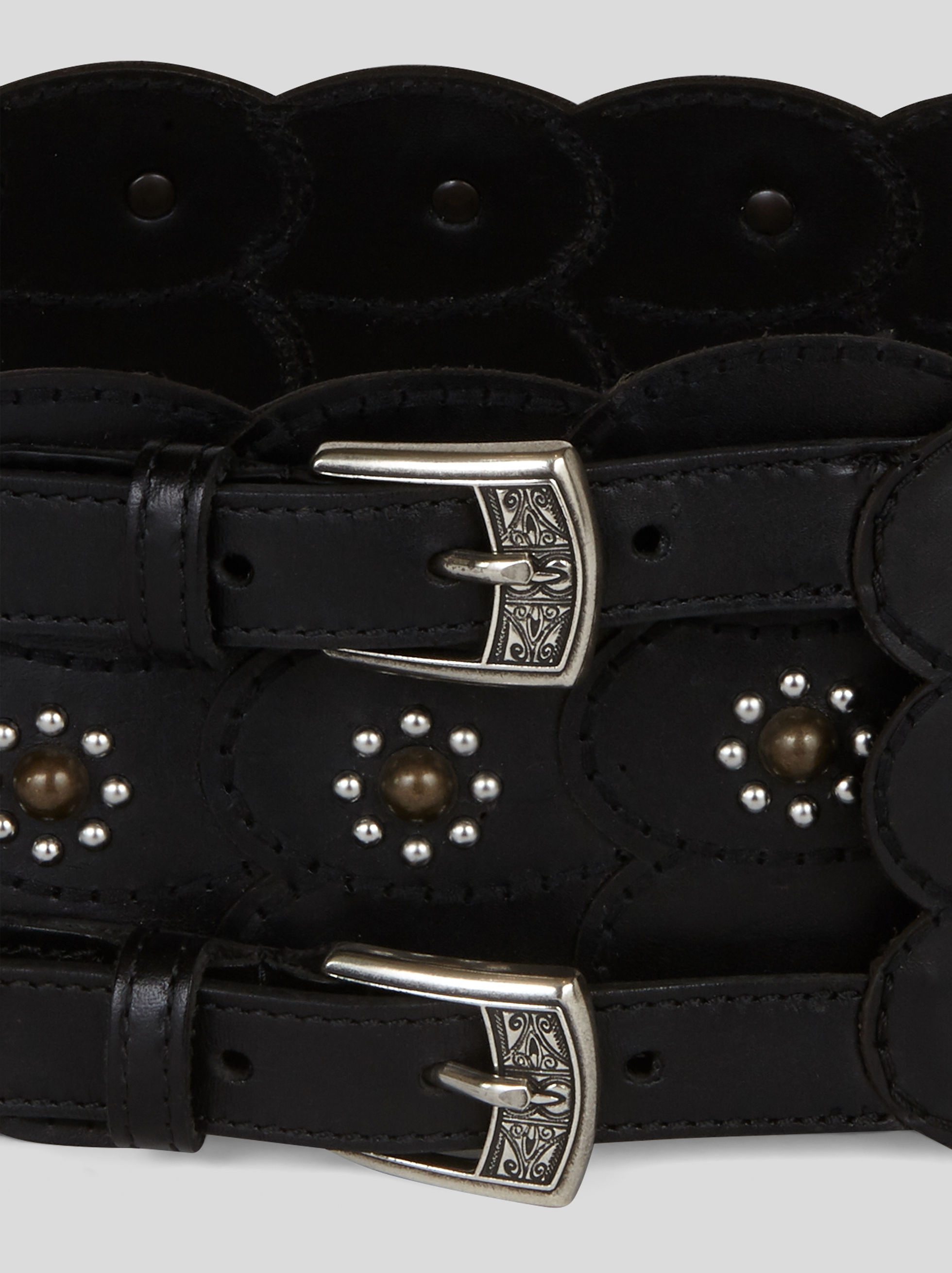 BUSTIER BELT WITH STUDS