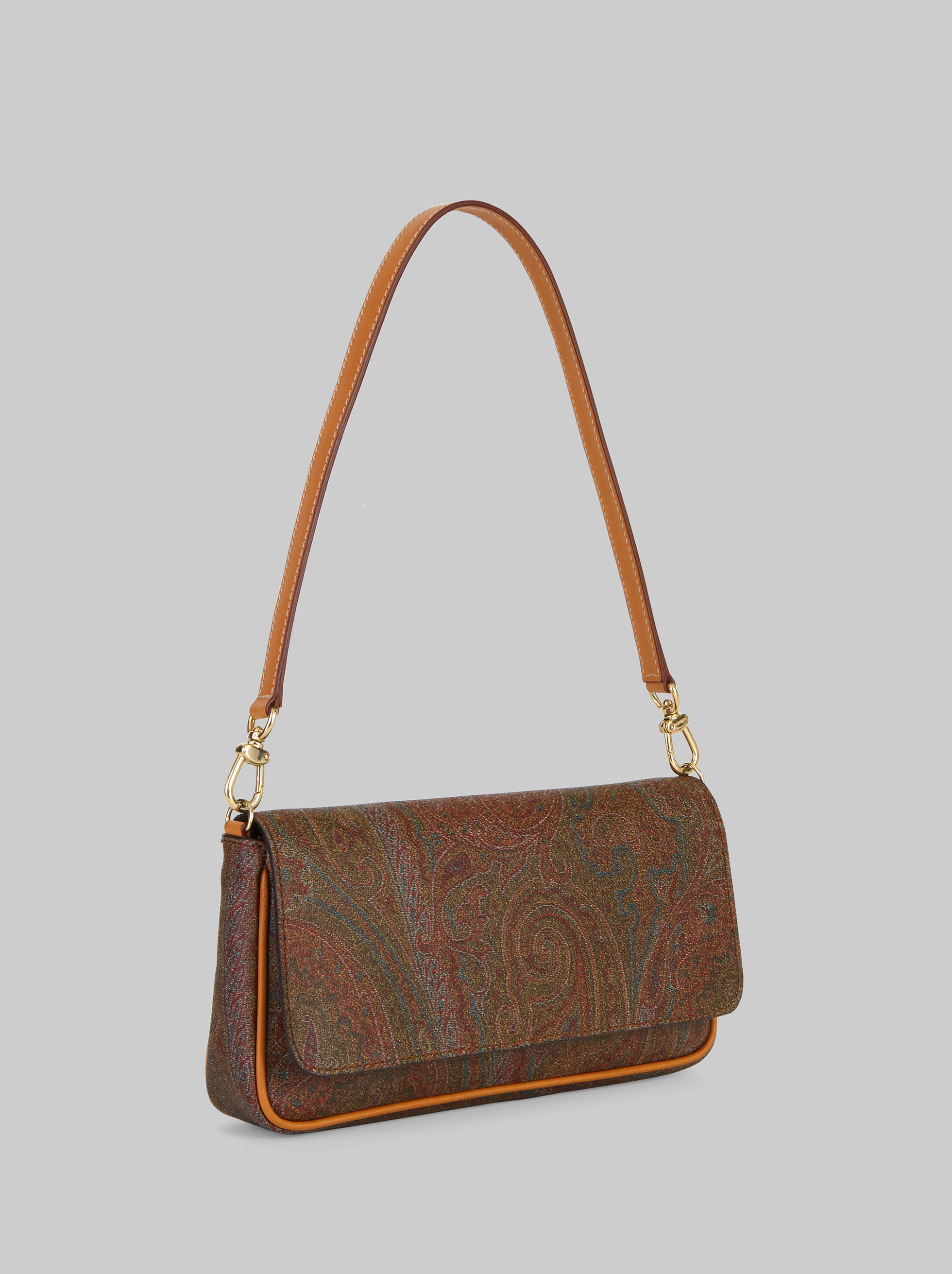 MINI SHOULDER BAG WITH PAISLEY DESIGNS