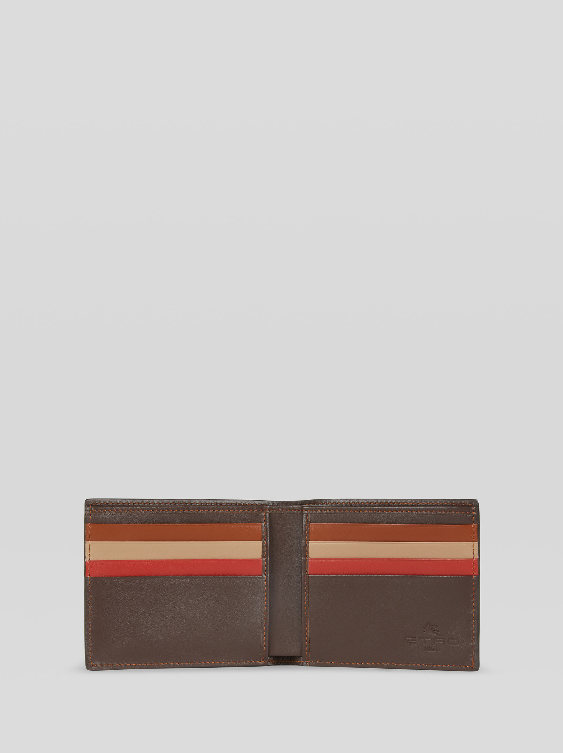LEATHER WALLET WITH PEGASO