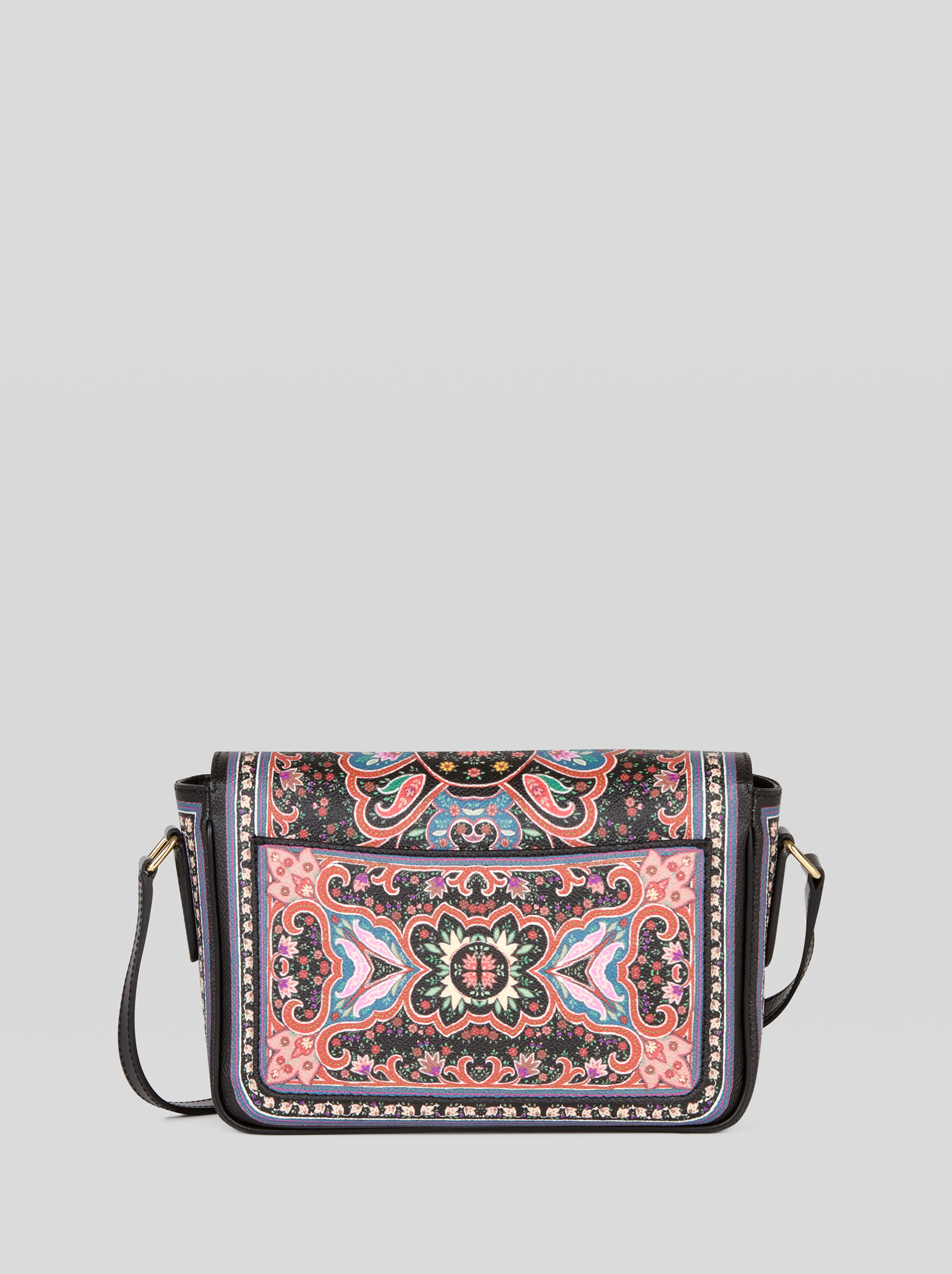 CROSSBODY BAG WITH FLORAL PATTERNS